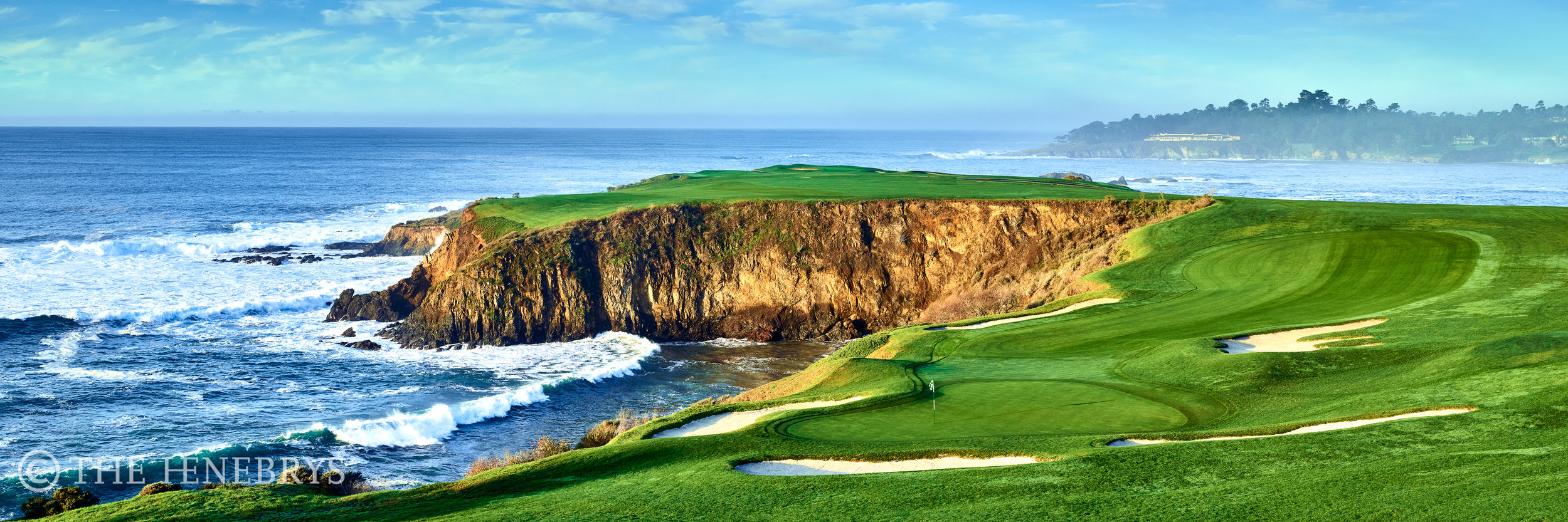 "Pebble Beach Golf Links® #08 ""Wonderous View"", Pebble Beach, California"
