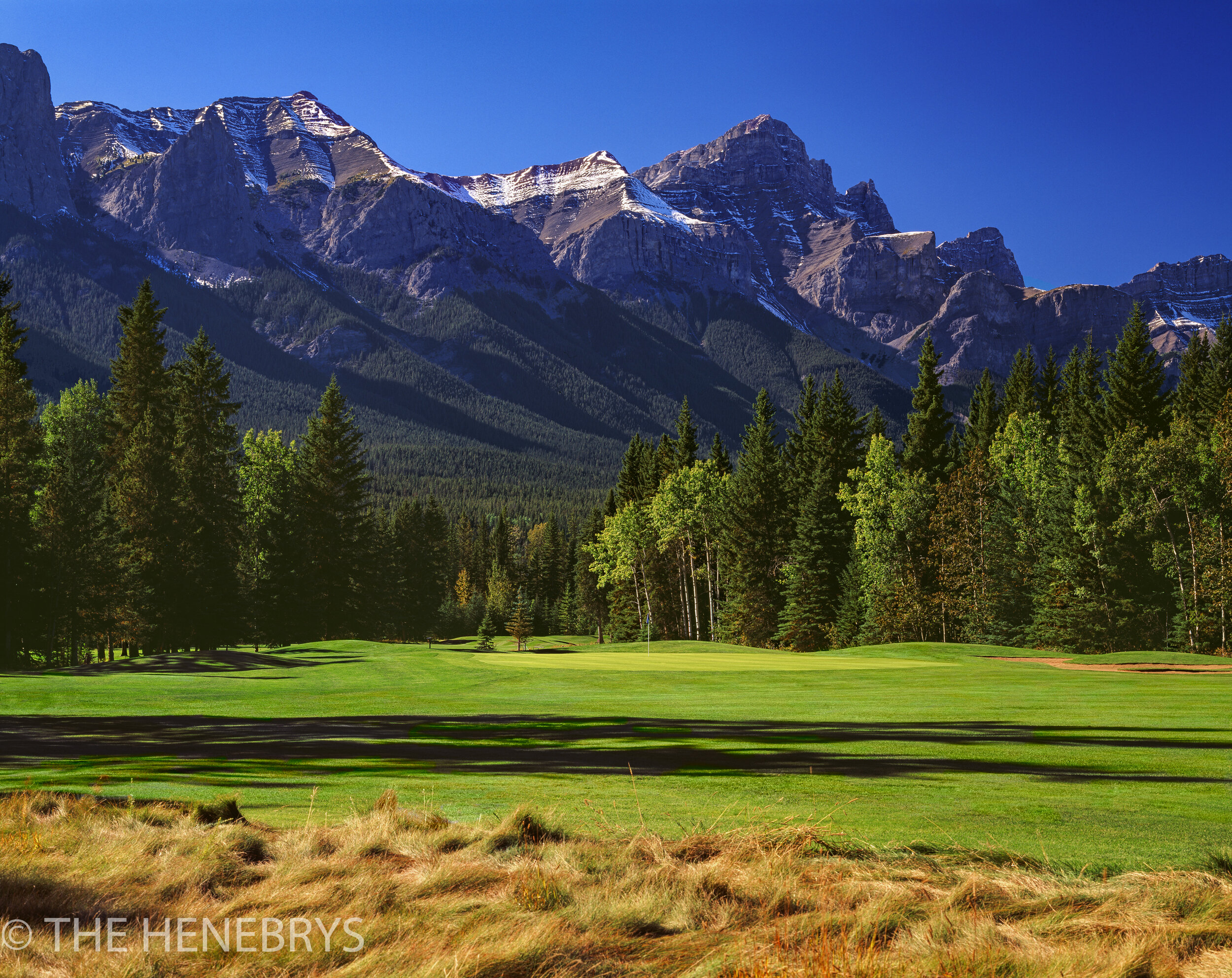Canmore Golf & Curling Club #17, Canmore, Canada