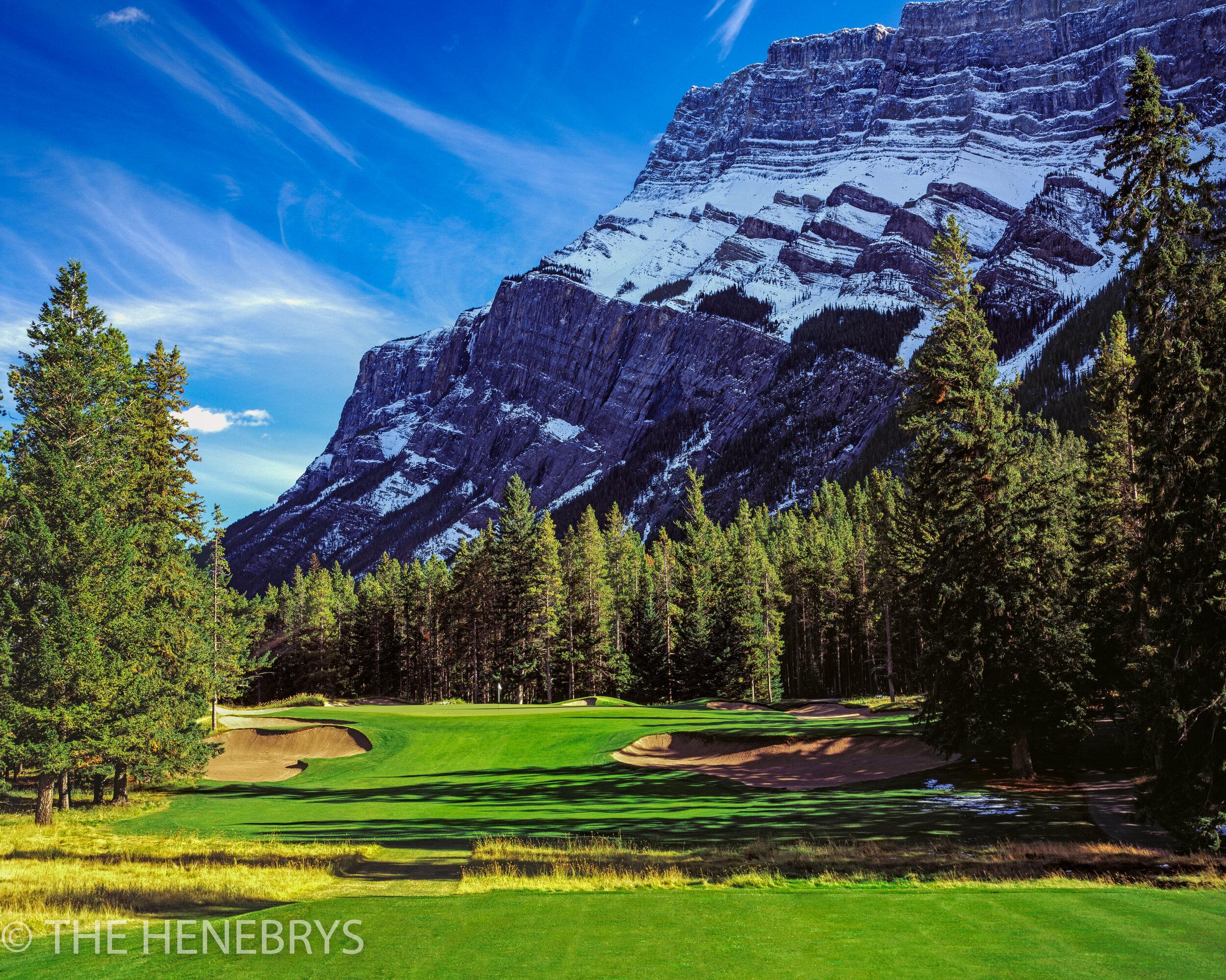 Fairmont Banff Springs Golf Course, Stanley Thompson Course #02, Banff, Canada