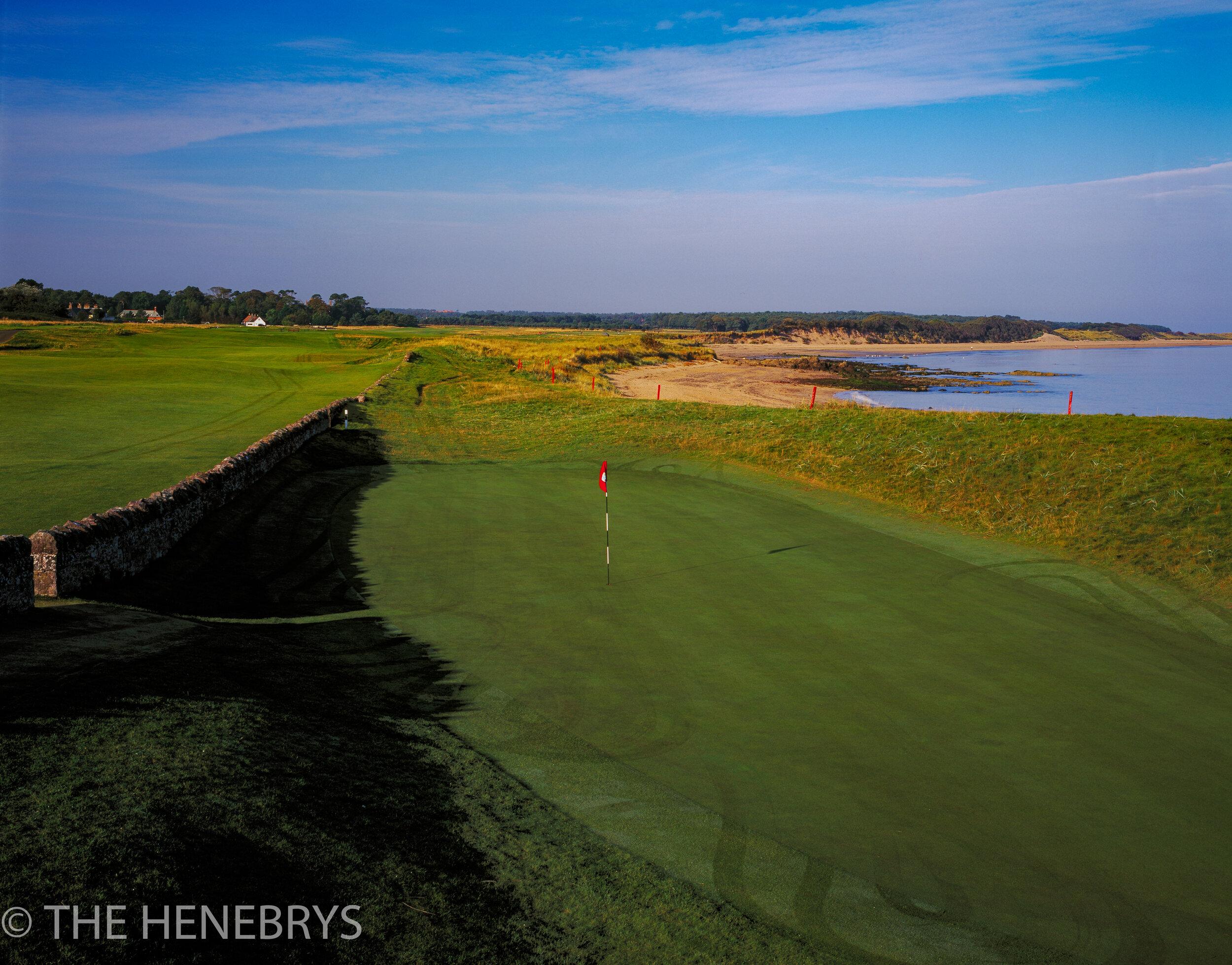 North Berwick Golf Club,West Links Course #13, North Berwick, Scotland