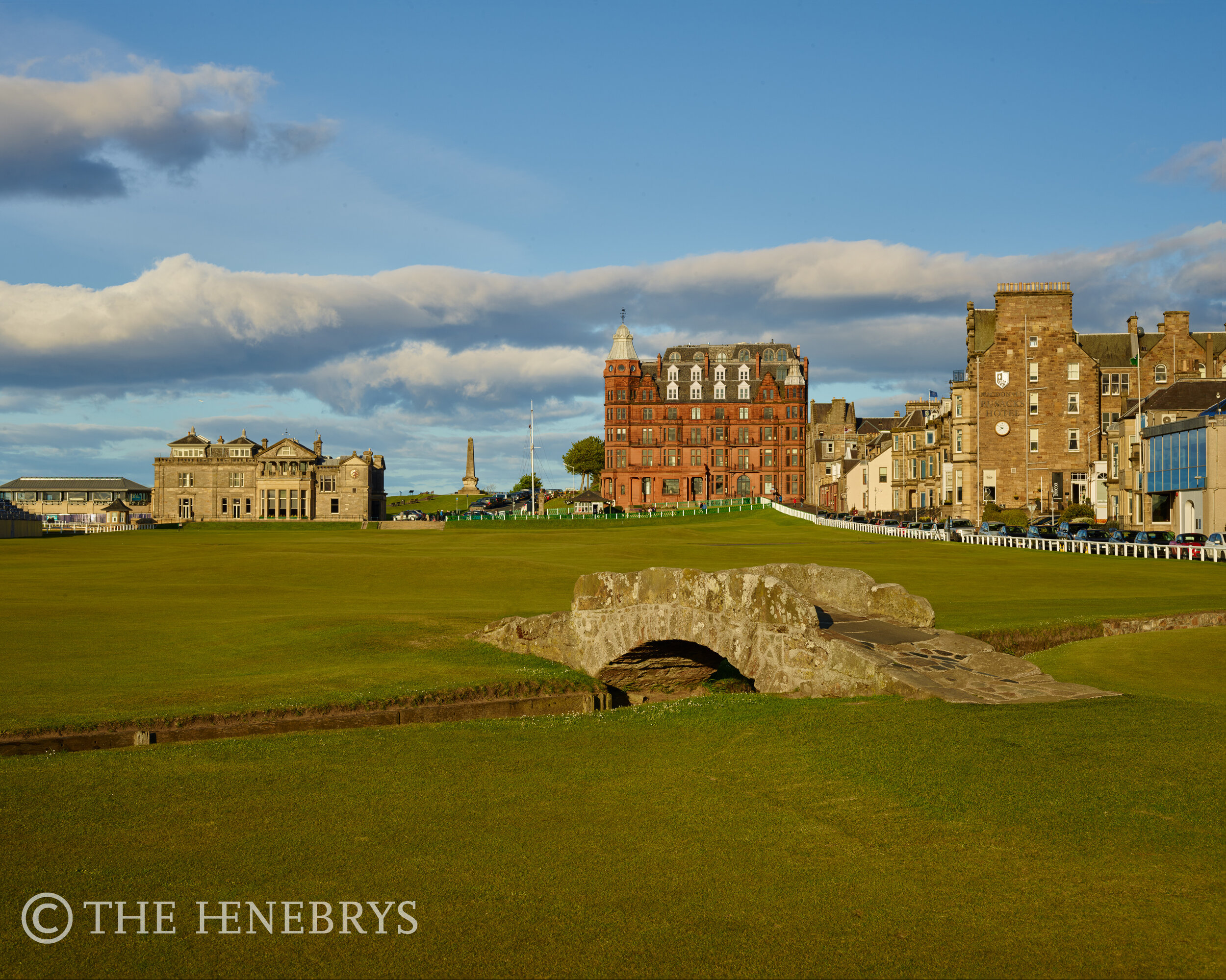 St. Andrews Golf Club,Old Course #18, St. Andrews, Scotland