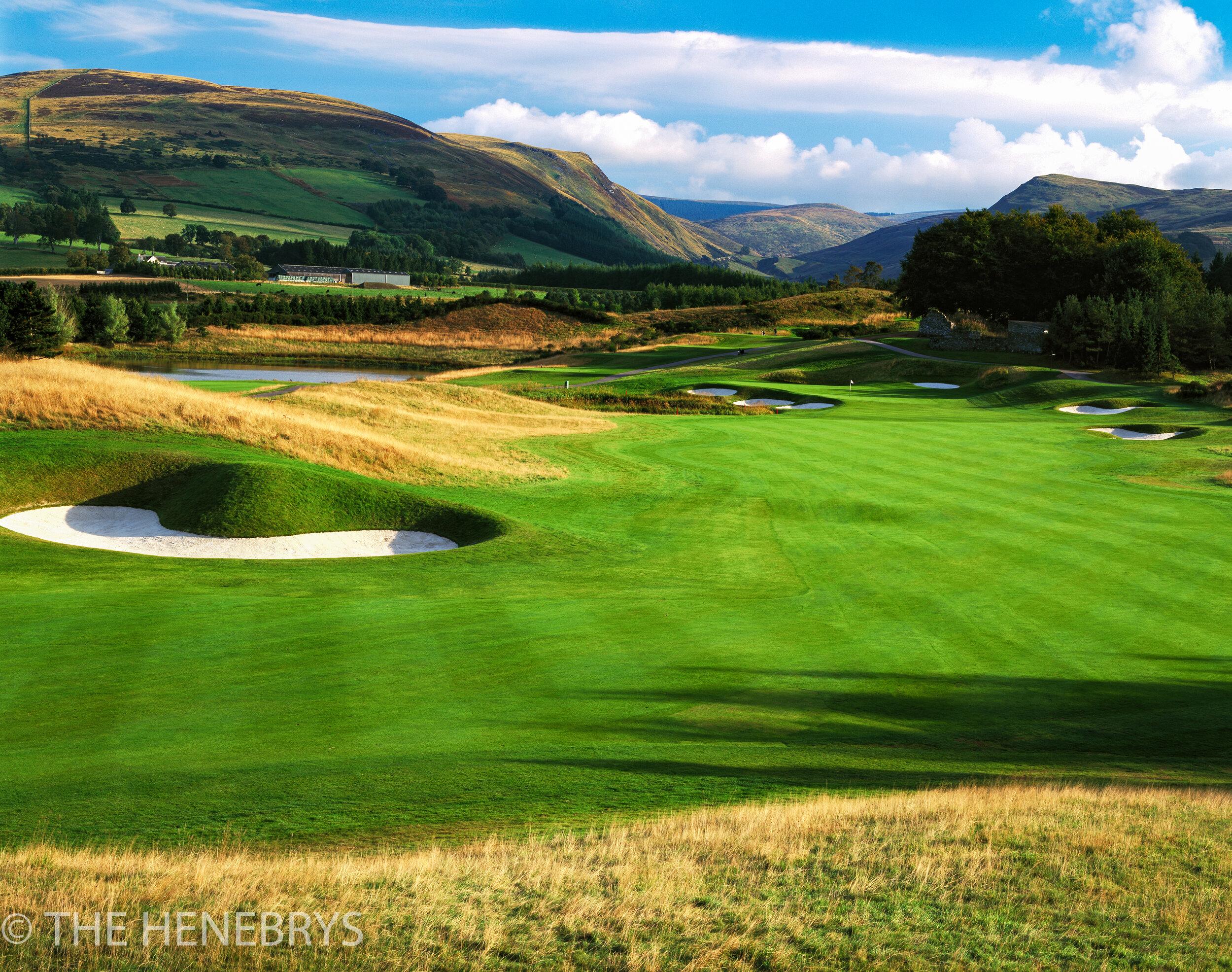 Gleneagles Golf Club, PGA Centenary Course #02, Perthshire, Scotland