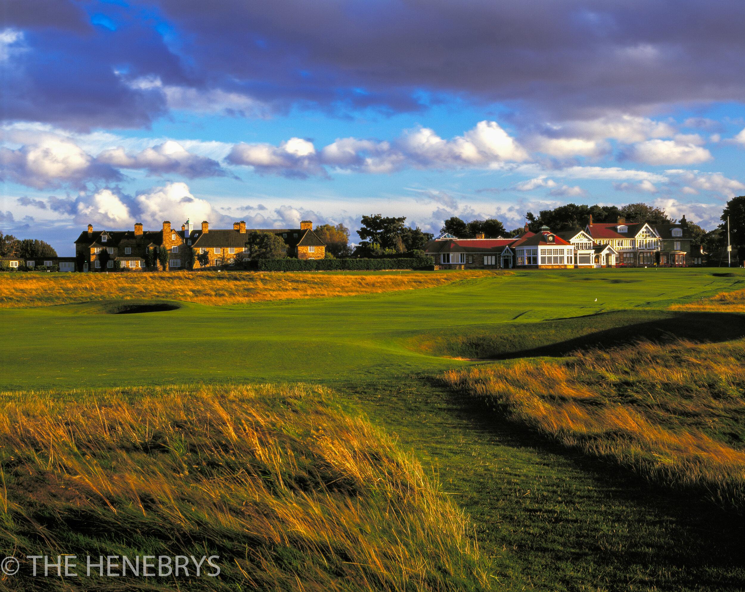 Muirfield Golf Club #18, Gullane, Scotland