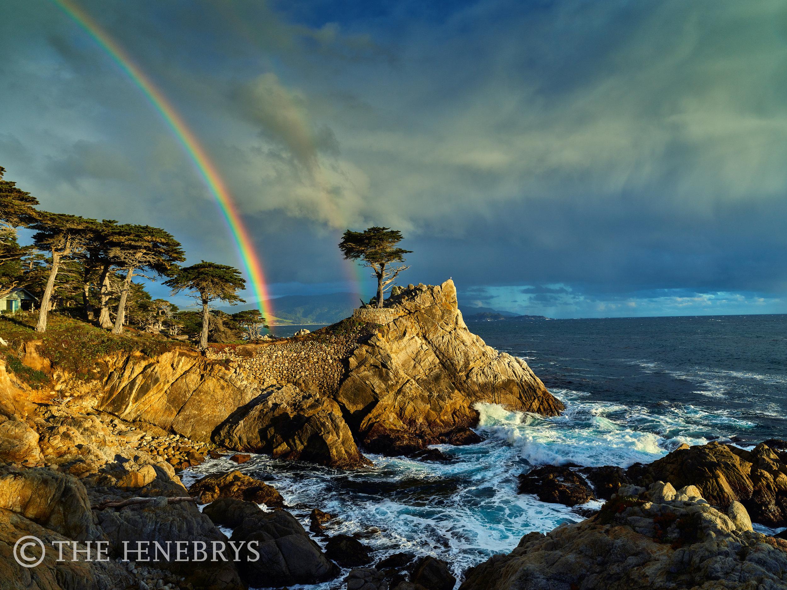 Pebble Beach Golf Links® Lone Cypress Rainbow, Pebble Beach, California