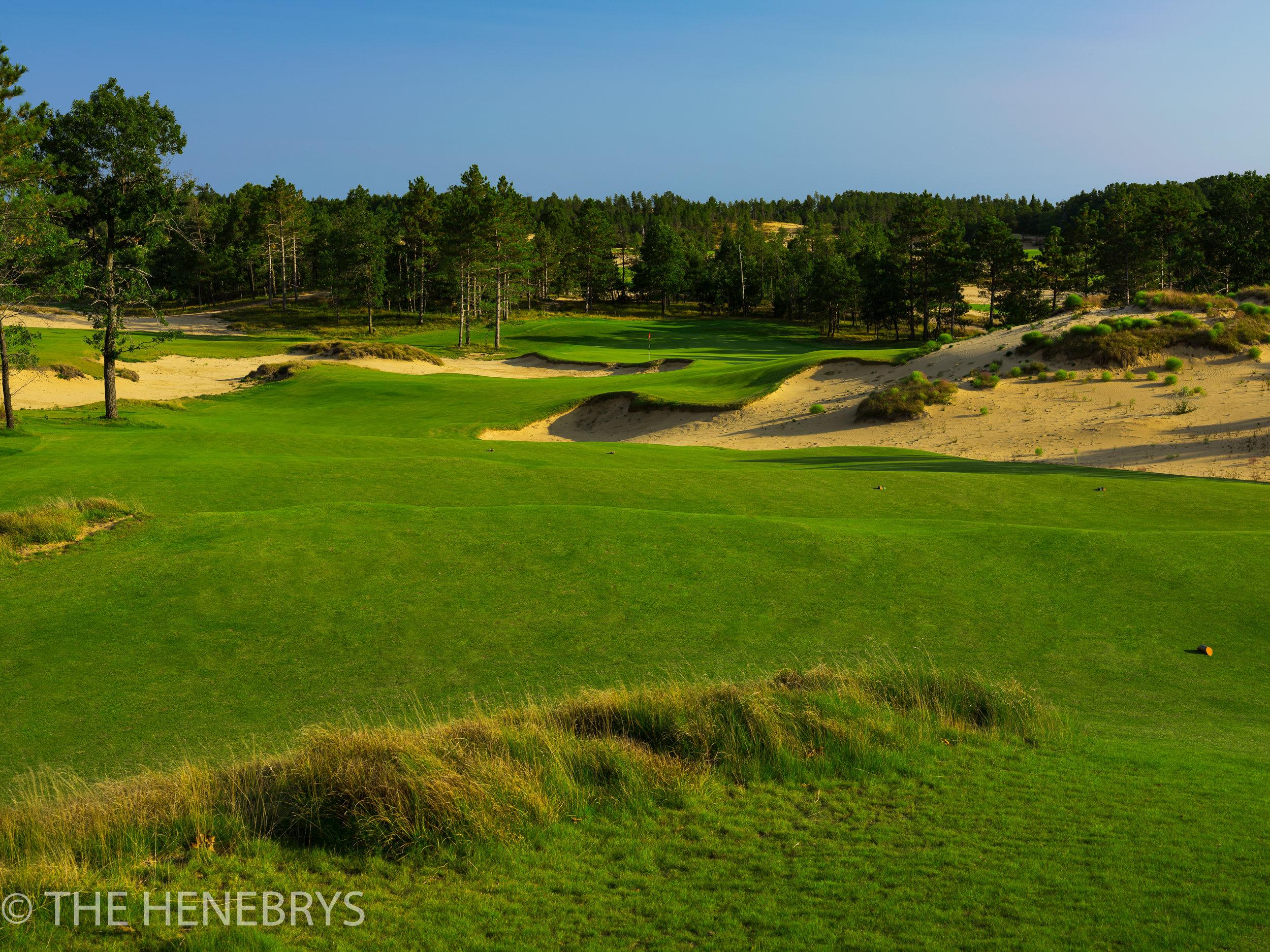 Sand Valley Golf Resort, Mammoth Dunes Course #16, Nekoosa, Wisconsin
