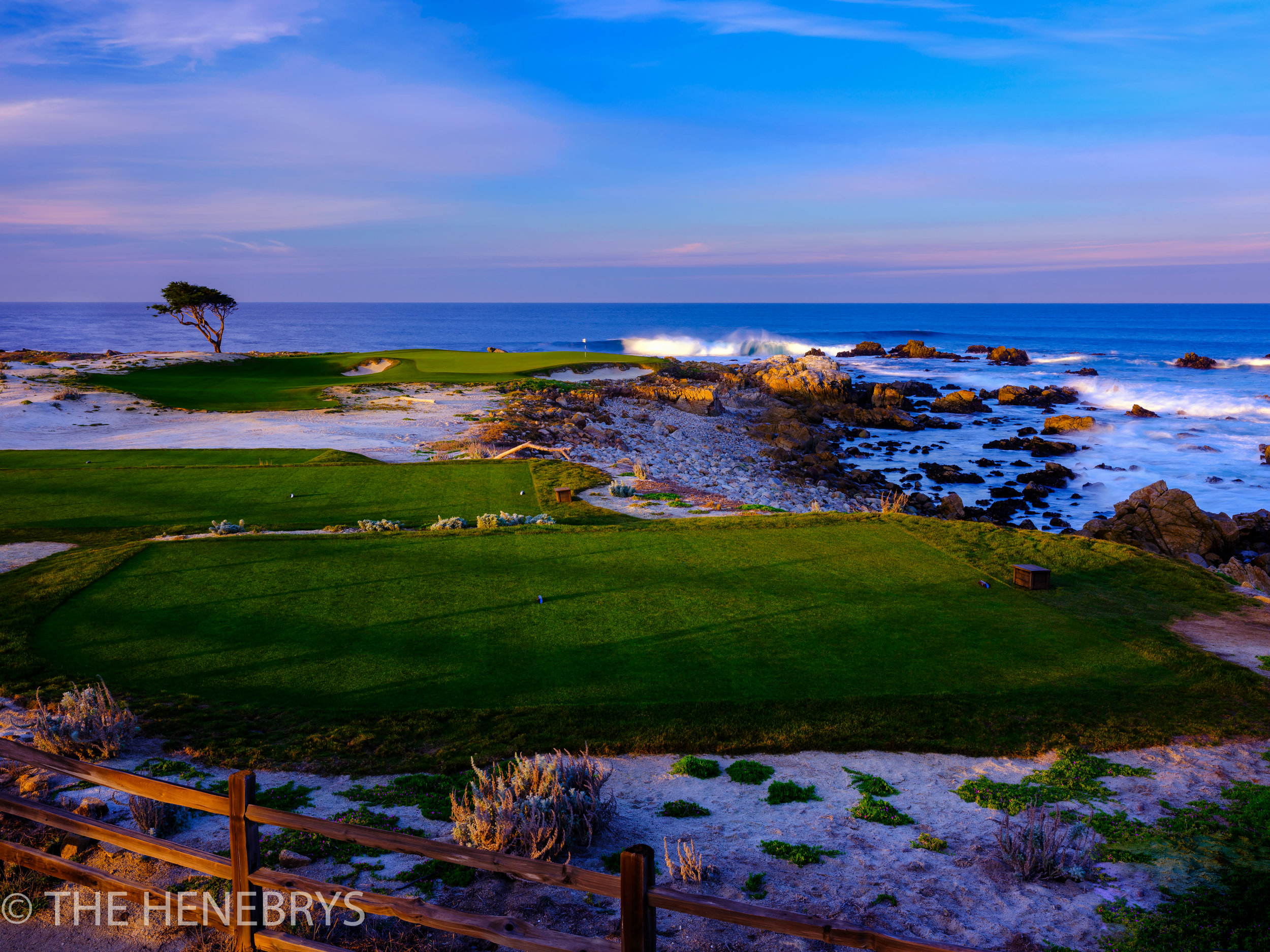 Monterrey Peninsula Country Club, Dunes Course #14, Pebble Beach, California
