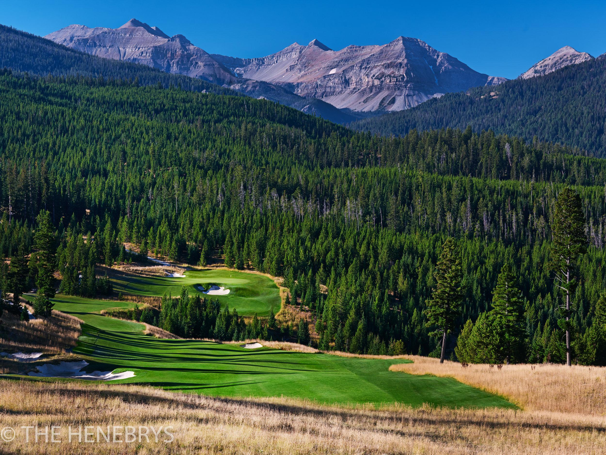 Moonlight Basin Golf Club, The Reserve Course #06, Big Sky, Montana