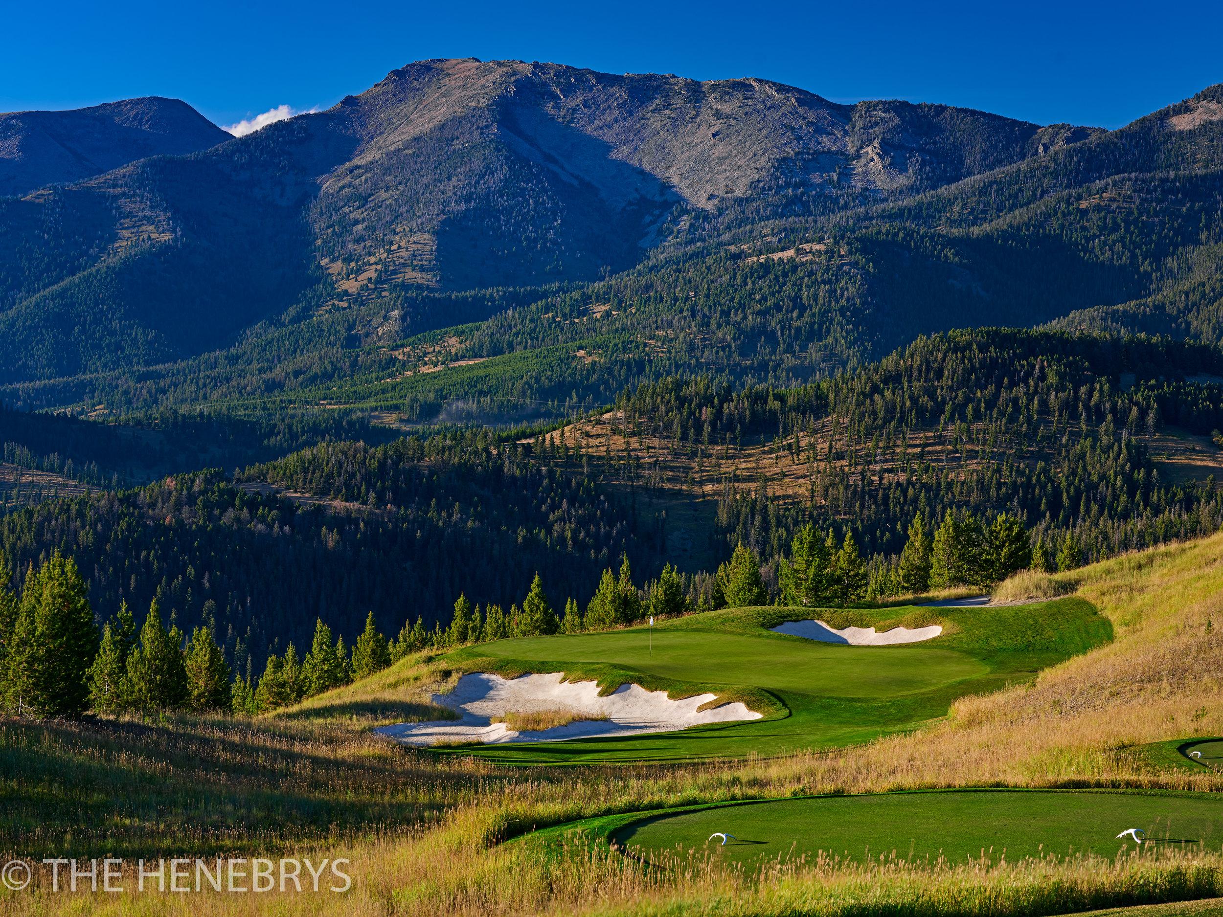 Moonlight Basin Golf Club, The Reserve Course #11, Big Sky, Montana