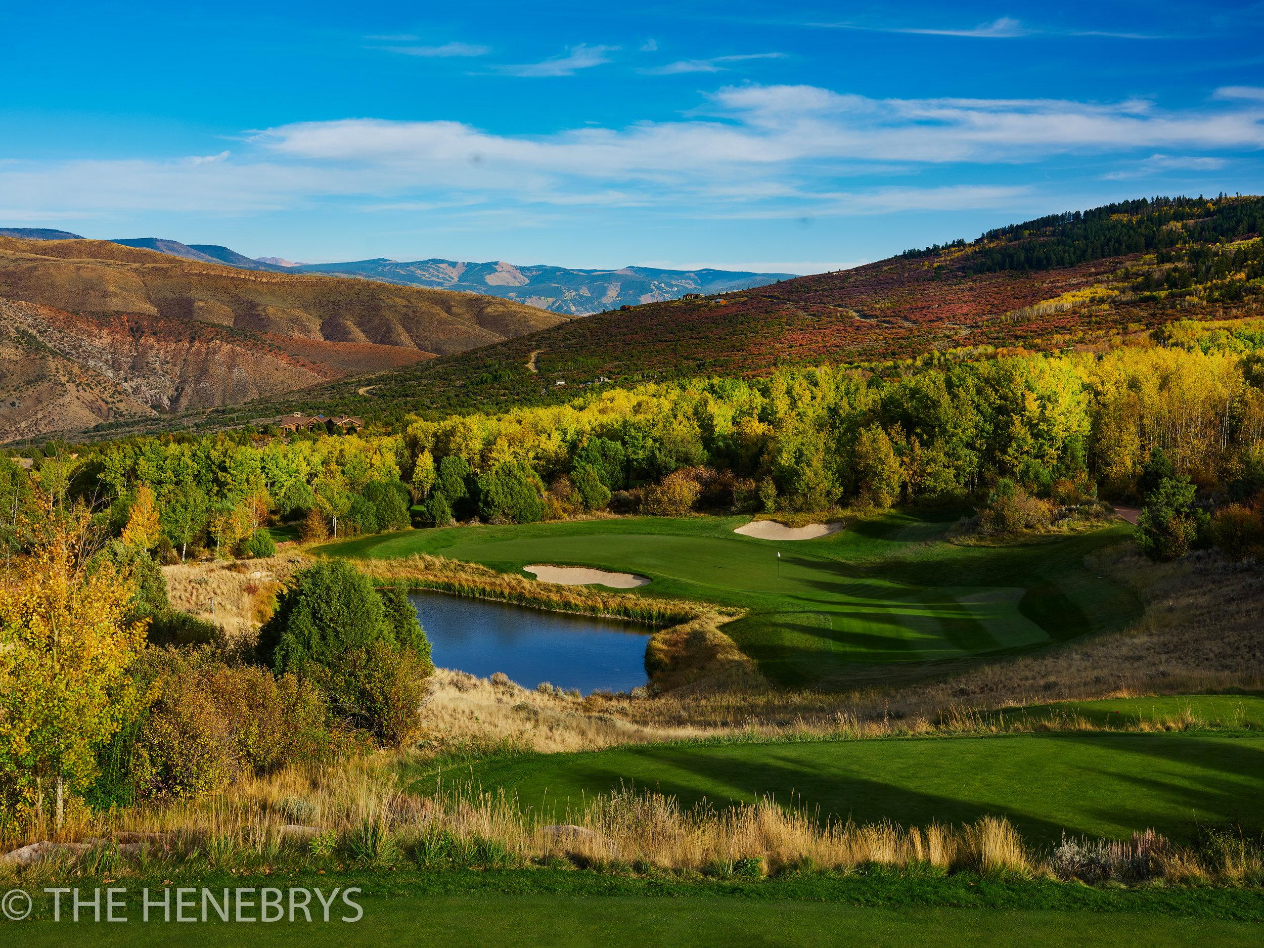 Red Sky Ranch And Golf Club, Fazio Course #17, Wolcott, Colorado