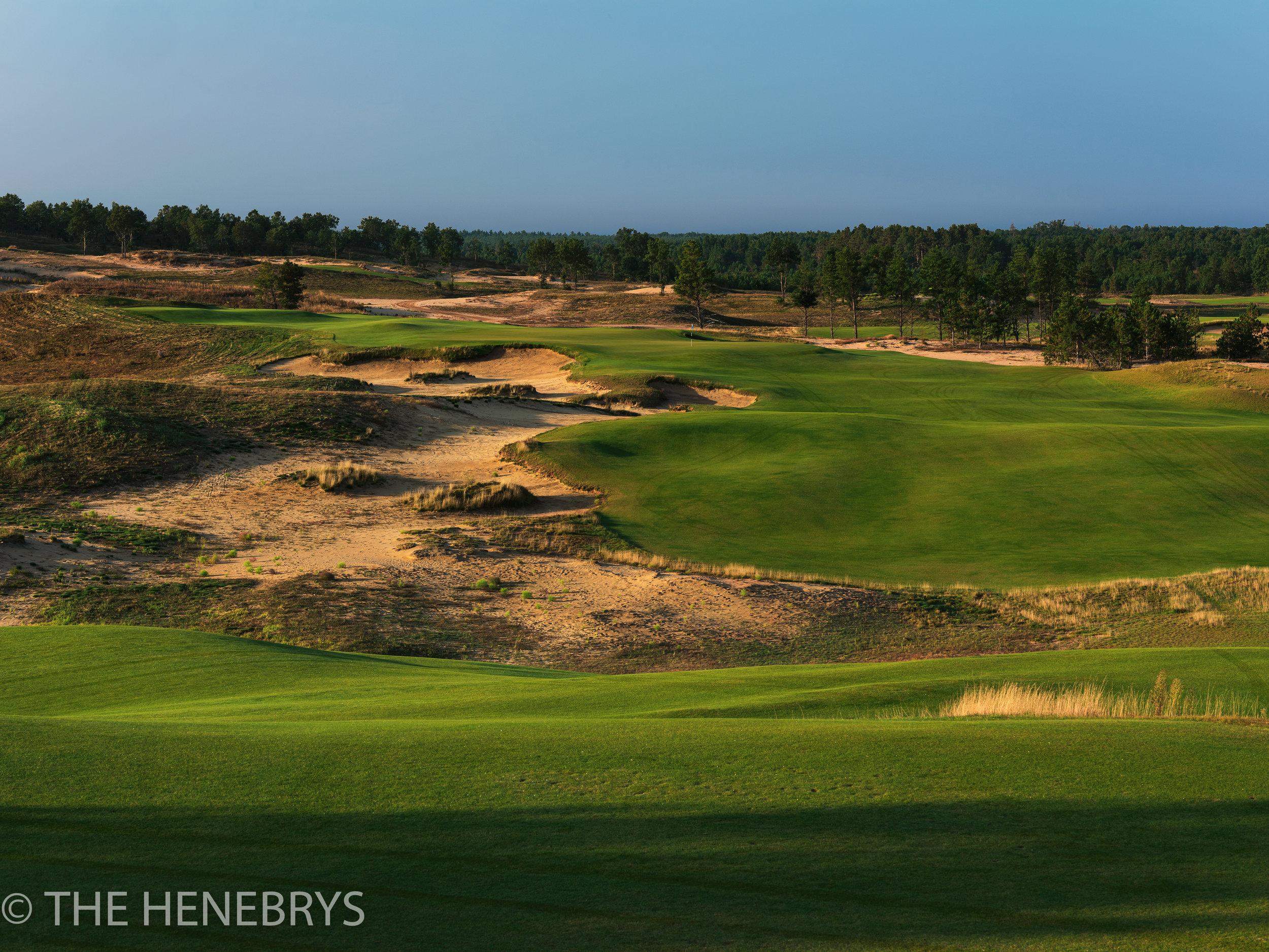 Sand Valley Golf Resort, Sand Valley Course #01, Nekoosa, Wisconsin