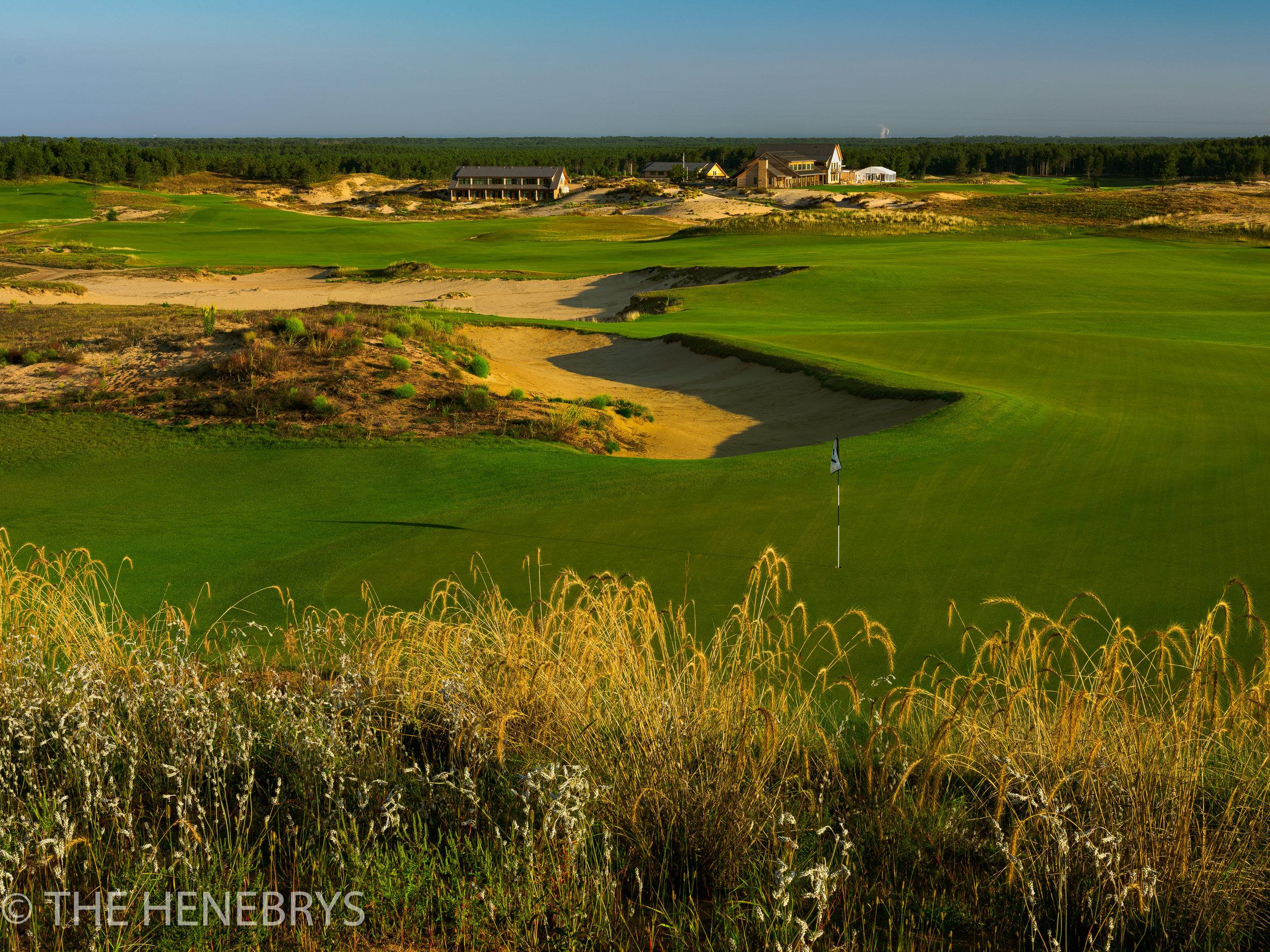 Sand Valley Golf Resort, Sand Valley Course #18, Nekoosa, Wisconsin