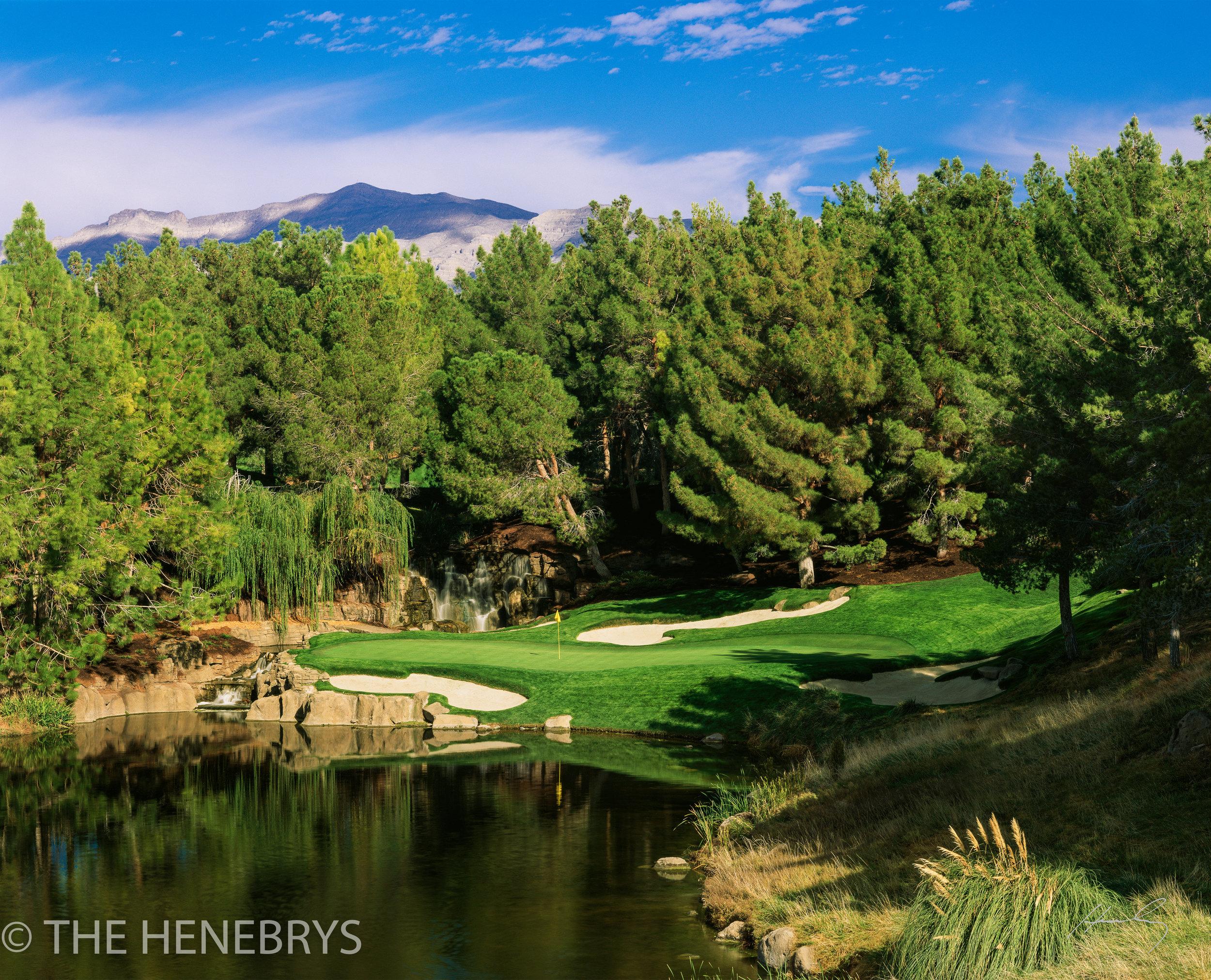 Shadow Creek Golf Club, #17, North Las Vegas, Nevada