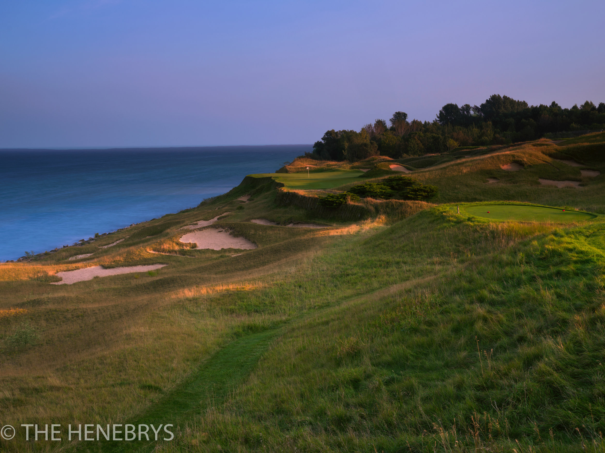 Whistling Straits, Straits Course #17, Kohler, Wisconsin