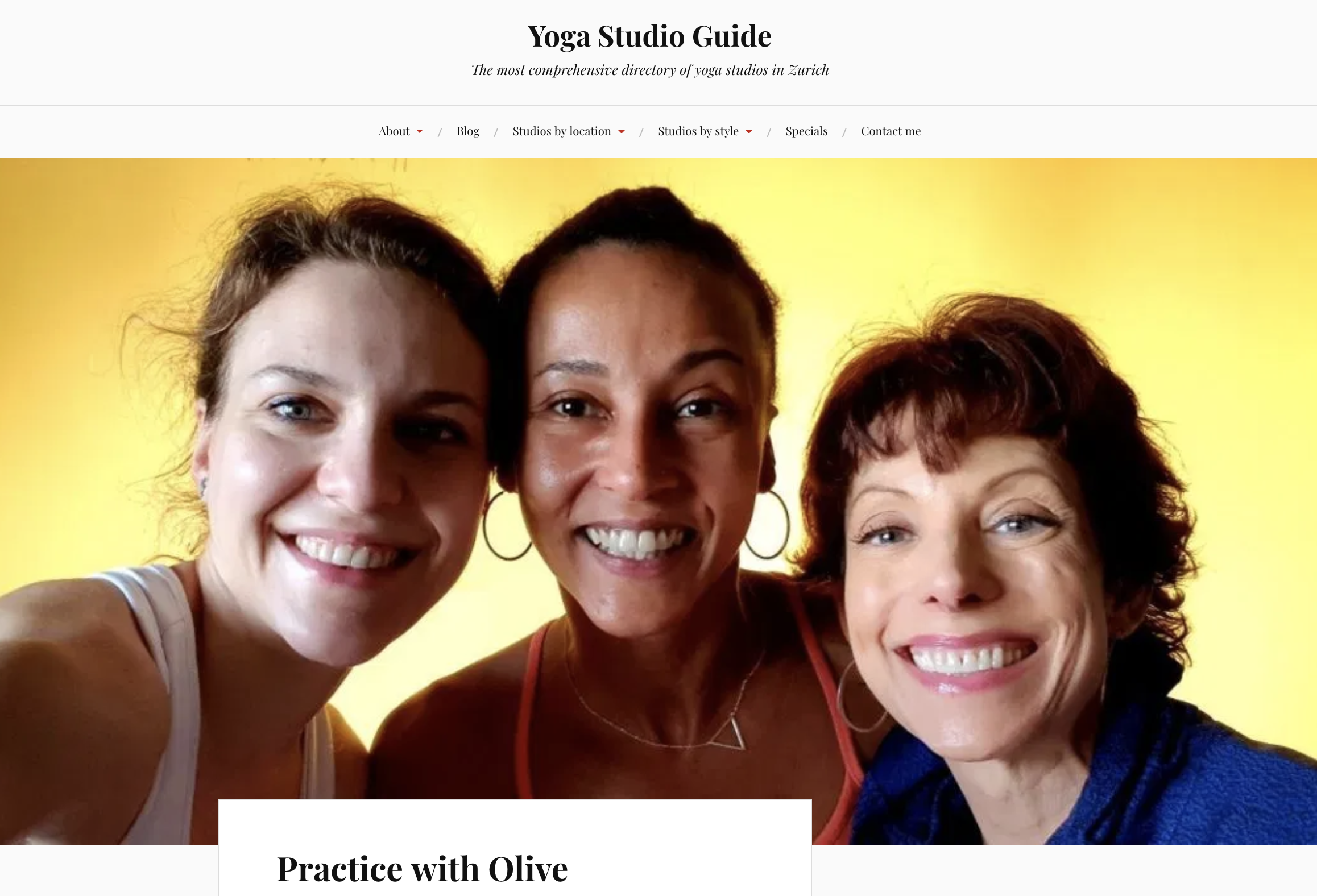 Review on Yoga Studio Guide