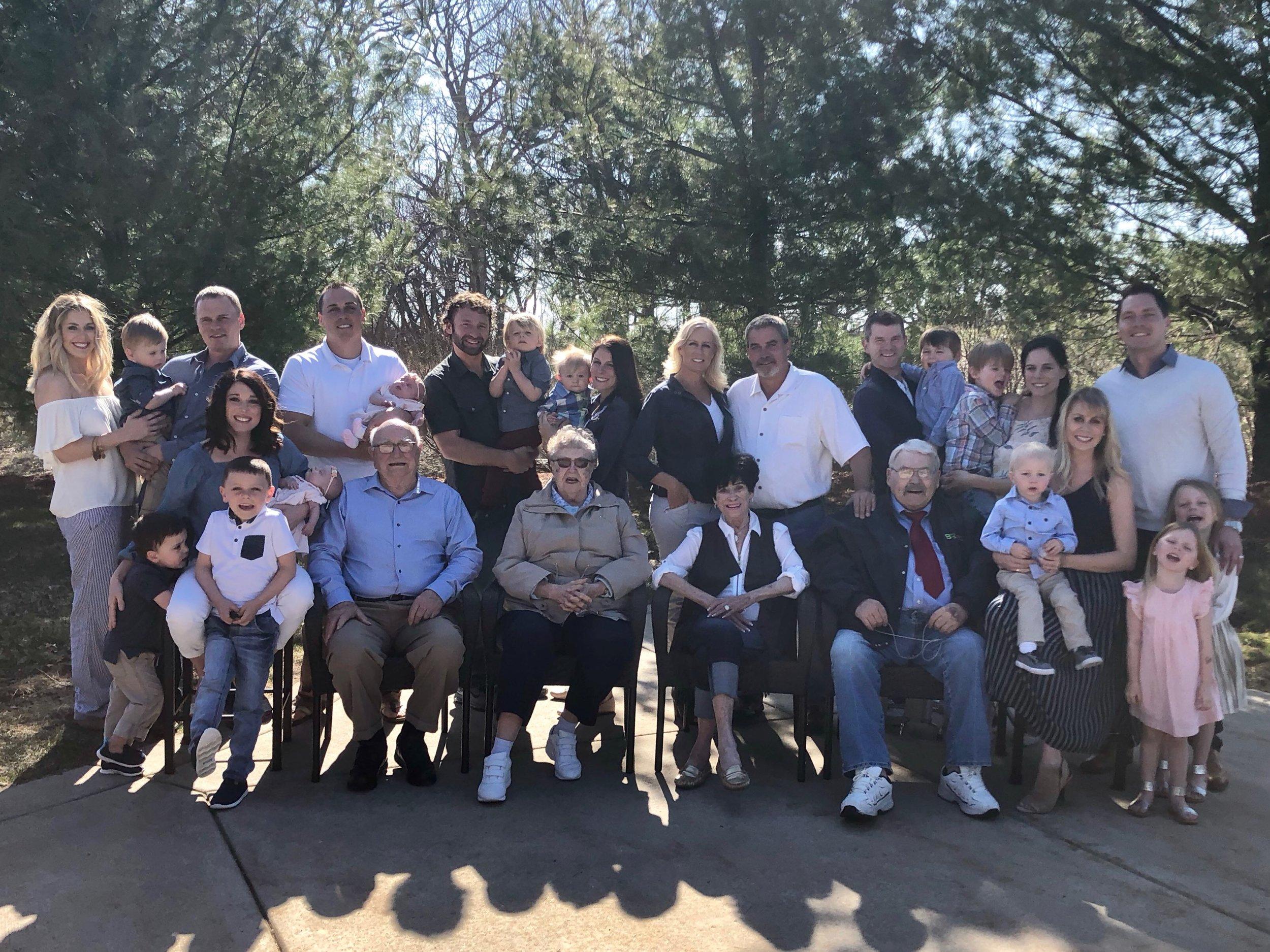 Nelson Family April 2018