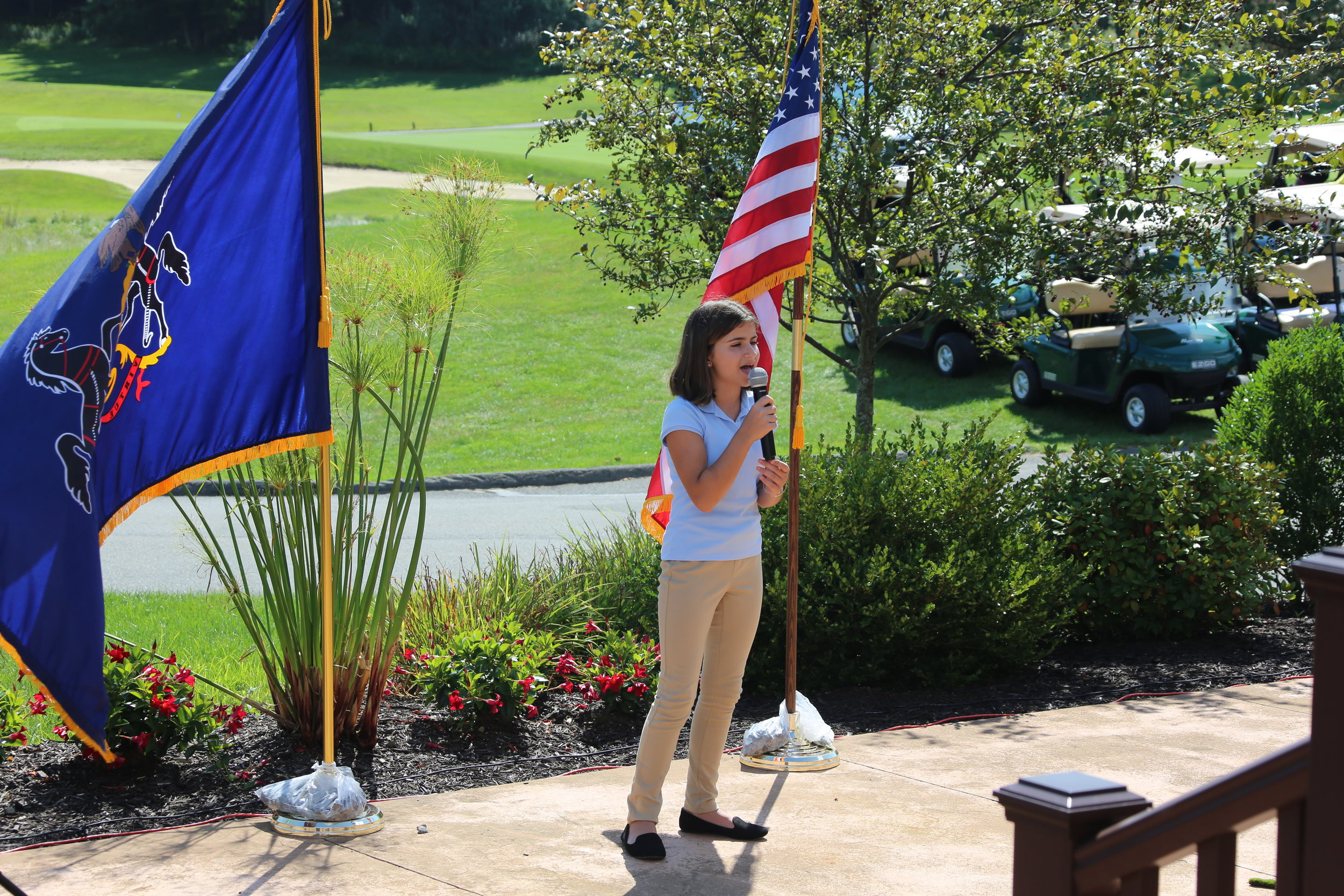 11:15 AM Opening Ceremony - Mount Airy Golf Club