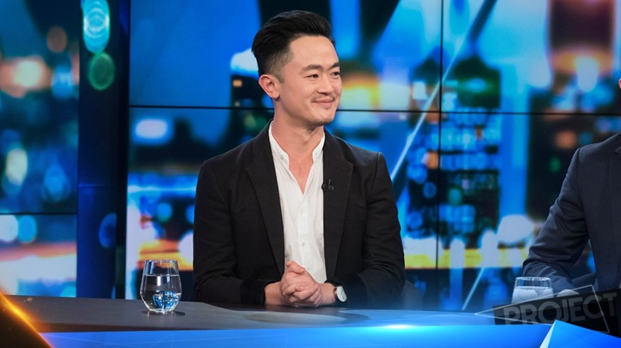 Benjamin Law is a regular guest host on Channel 10's  The Project.