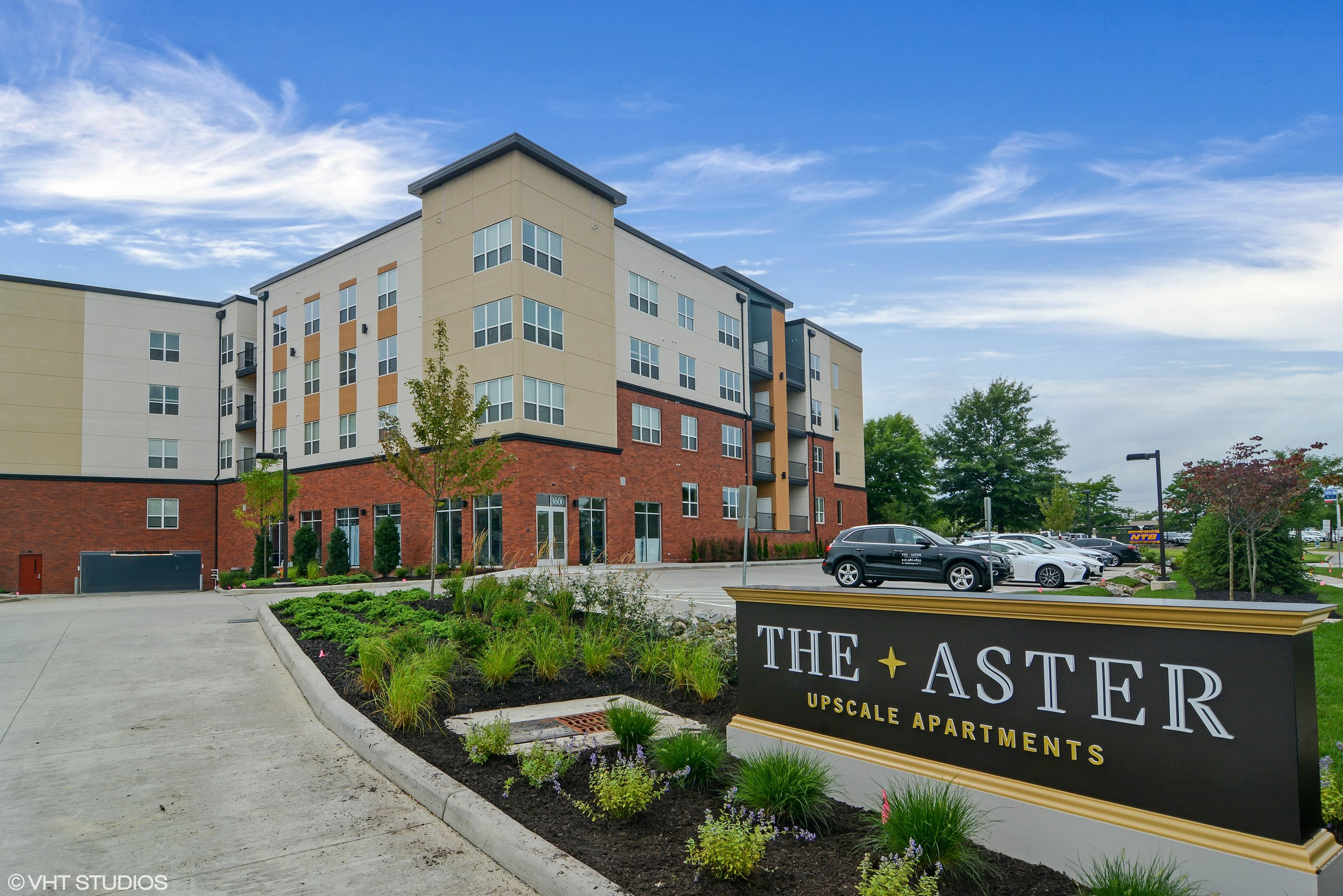 The Aster - Covington Realty Partners developed The Aster, a multi-family residential property in Beachwood, OH.