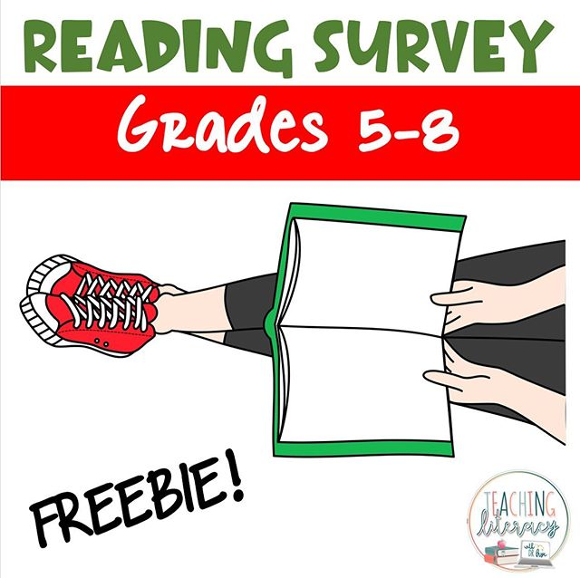 Looking to know a bit more about your middle school readers?⠀ ⠀ DM me with your email address for a FREE Reading Survey!⠀ ⠀ This FREE Reading Survey is a great way to assess students' digital and print literacy habits, attitudes, and preferences at any time of the year. Teachers can use this valuable information to tailor literacy instruction, novel study choices, and classroom library selections!⠀ ⠀ Hope you find it helpful!⠀ ⠀ #teachingliteracy #books #reading #middleschoolteacher #teachersfollowteachers #teachersofinstagram #6thgrade #7thgrade #8thgrade #readingsurvey #digitalreaders #printreaders #litcircles #classroomlibrary⠀