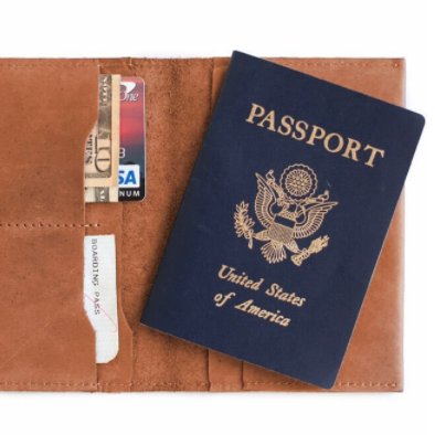 Eyerusalem Passport Wallet - Can be personalized!