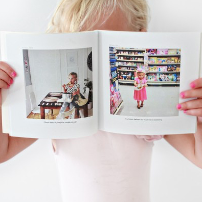 Chat Books - My husband, Brian, works long hours. He always requests pictures of the kiddos for his