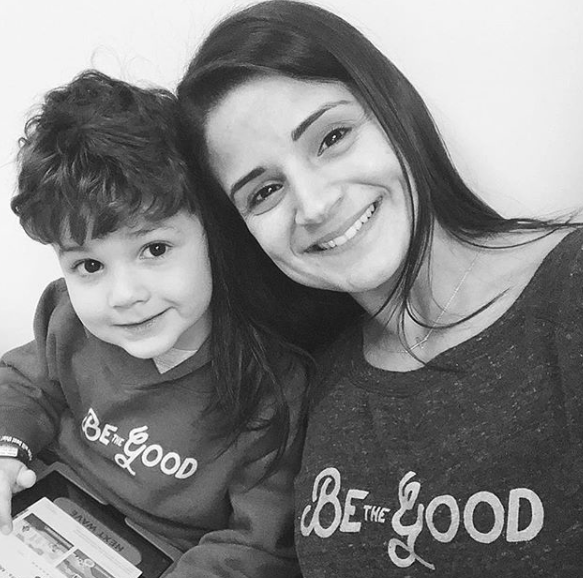 Sweet Maddox and his Mother, Nour.