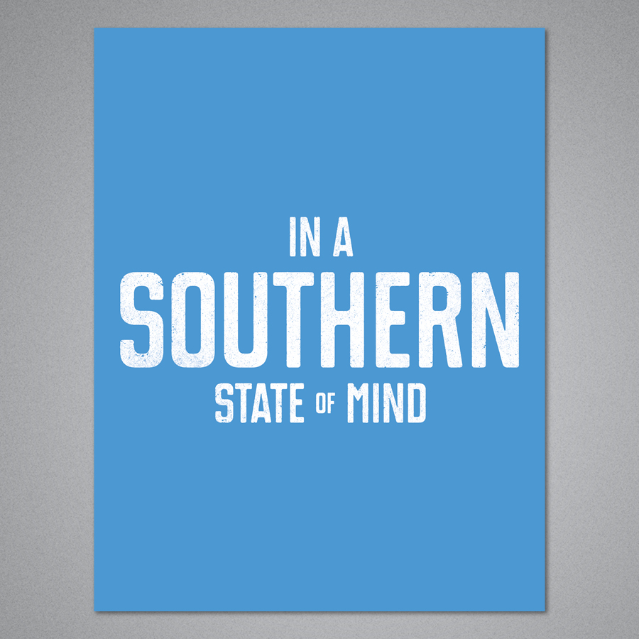 In A Southern State of Mind Card