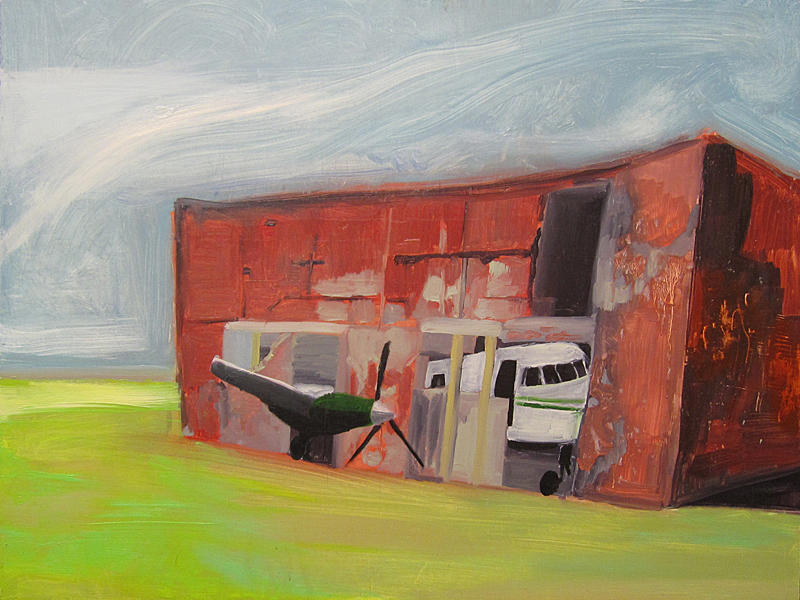 "Oil on panel 24""  x 18"" 2009"