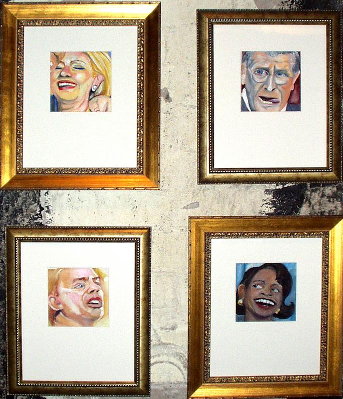 Political Heads (Elective Acts Installation, Phoenix, AZ)