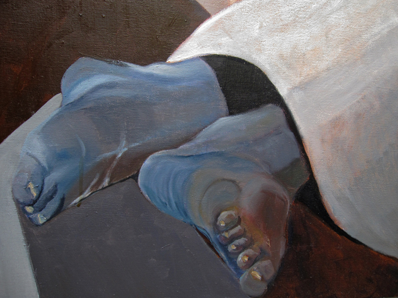 Cold Feet (Detail)