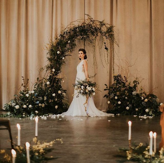 A favorite from my shoot yesterday - Foraged.  So much fun and so many great vendors. #seattleweddingplanner #fairytalewedding #bride #candles#romanticdream #styledshoot #teamwork