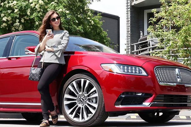 I'm mostly really proud of myself for:  🙋🏻♀️Driving around this chic, brand new @lincolnca Lincoln Continental without getting a scratch on it (#QueenofKlutz) and maneuvering all the features like AUTO parallel parking (where was this car when I was stressing how to parallel park for my driver's license test)?! 🙋🏻♀️Whipping out my DSLR camera and taking this photo with remote shooting (I filmed a quick tutorial how I did it if you want to see)!  Thank you @fordcanada for the taste of luxury this week. If you ever have a chance to rent/buy/ride a @lincolnca Lincoln Continental, do it!! #lincoln_partner #lincolncontinental