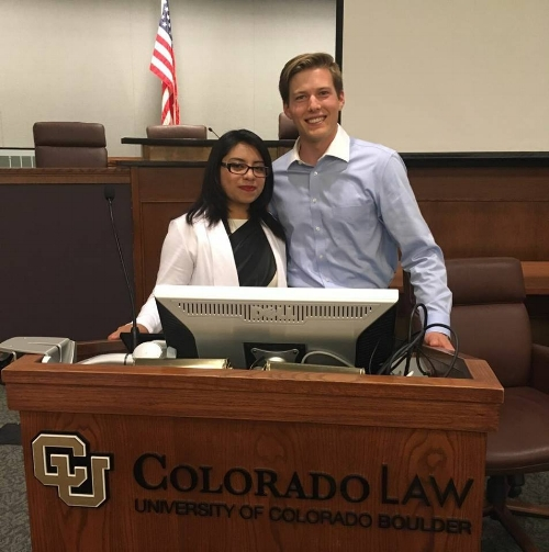 Colin and Noemi - Law School Event - Spring 2017