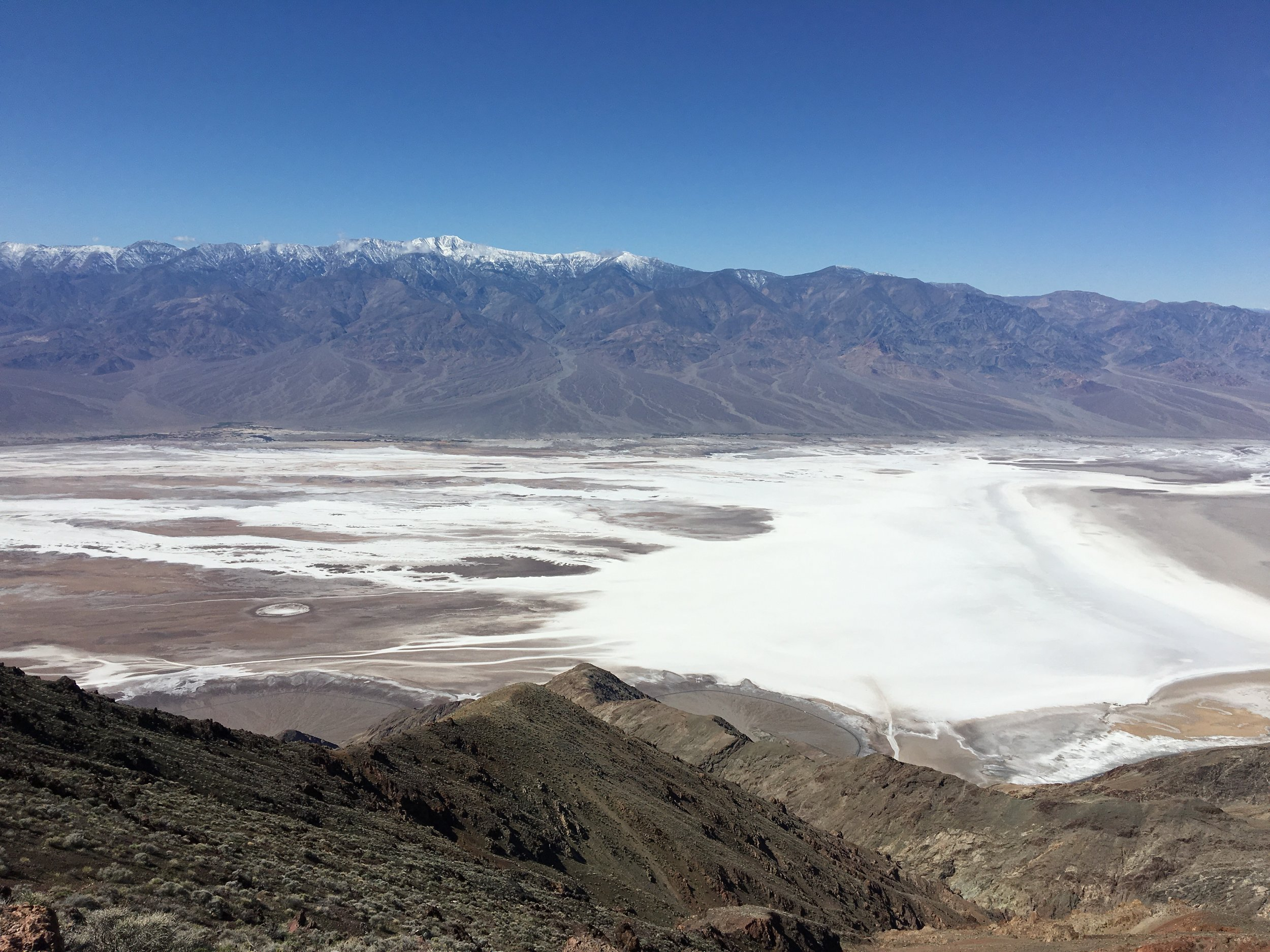 High above Badwater Basin,Death Valley National Park