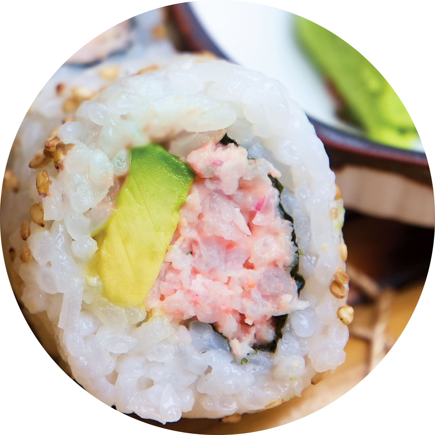 Shrimp & Avocado Roll