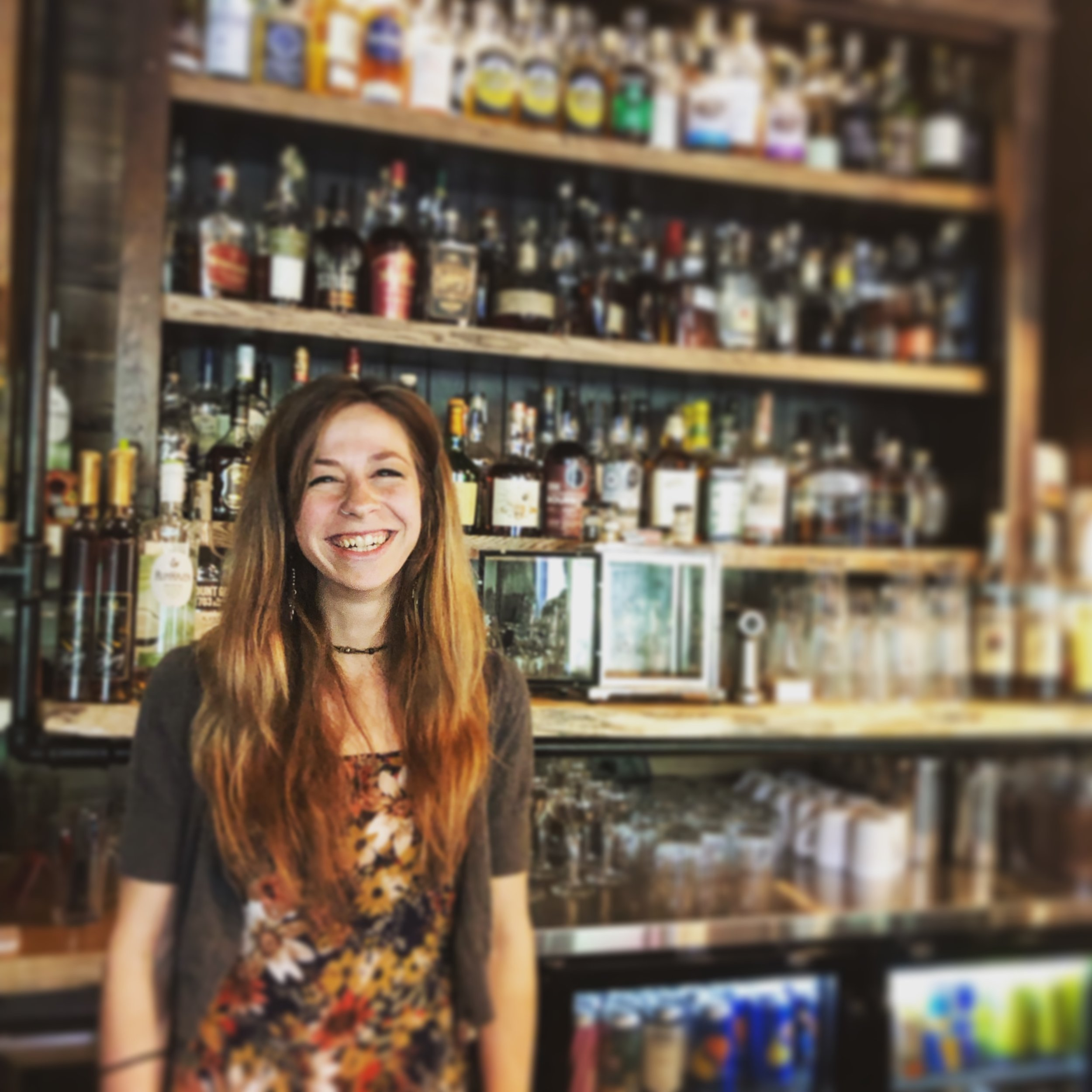 Miranda Sculli,   Bar-back Extraordinaire, House Charmer, Queen of Hustle and Most Positive Person in the Room