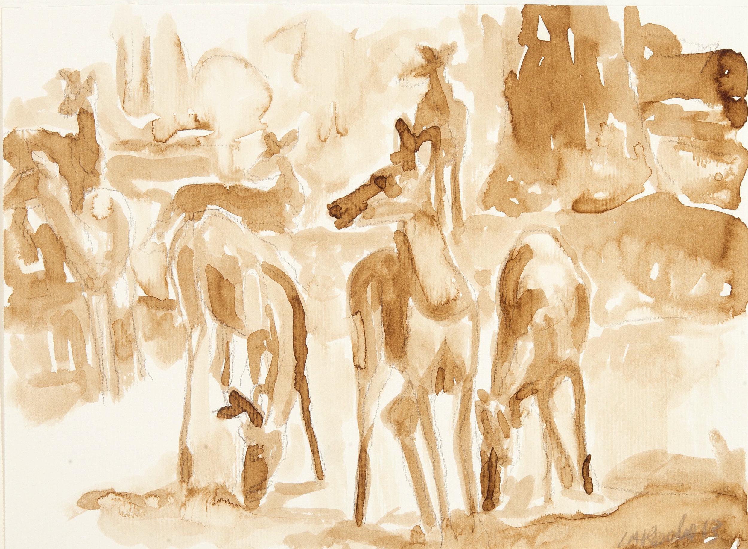 Deer Study II
