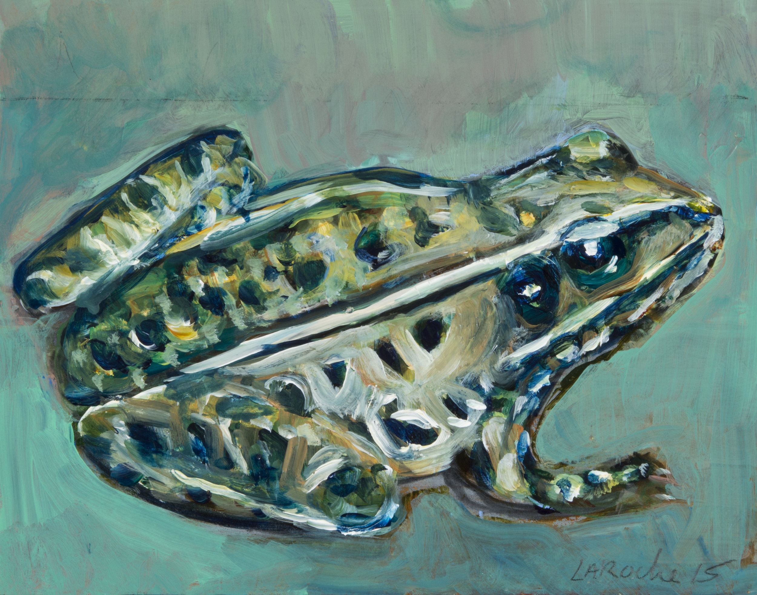 Prince Charming: I am not a frog  (ode to Aldwyth) VI