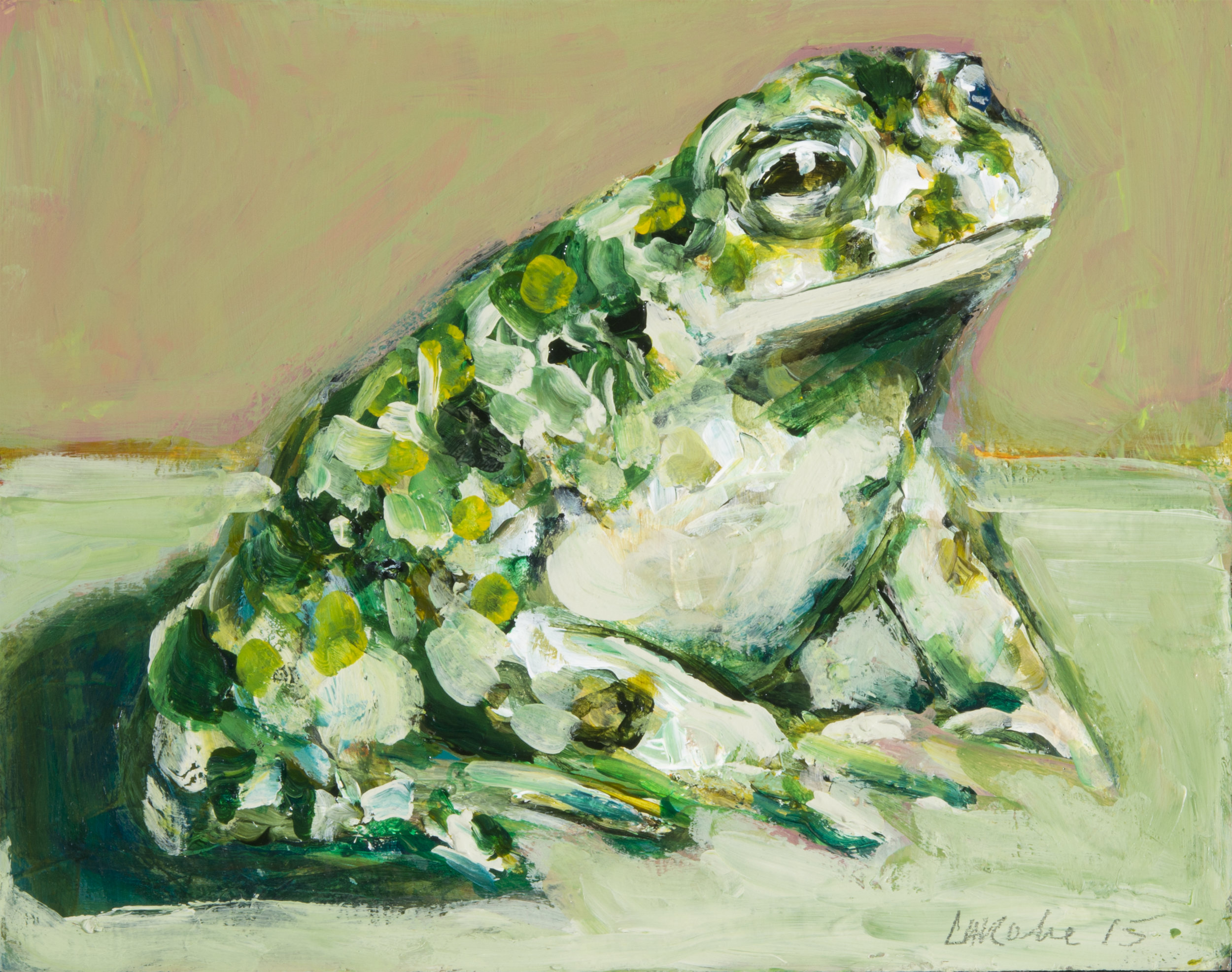 Prince Charming: I am not a frog  (ode to Aldwyth) I