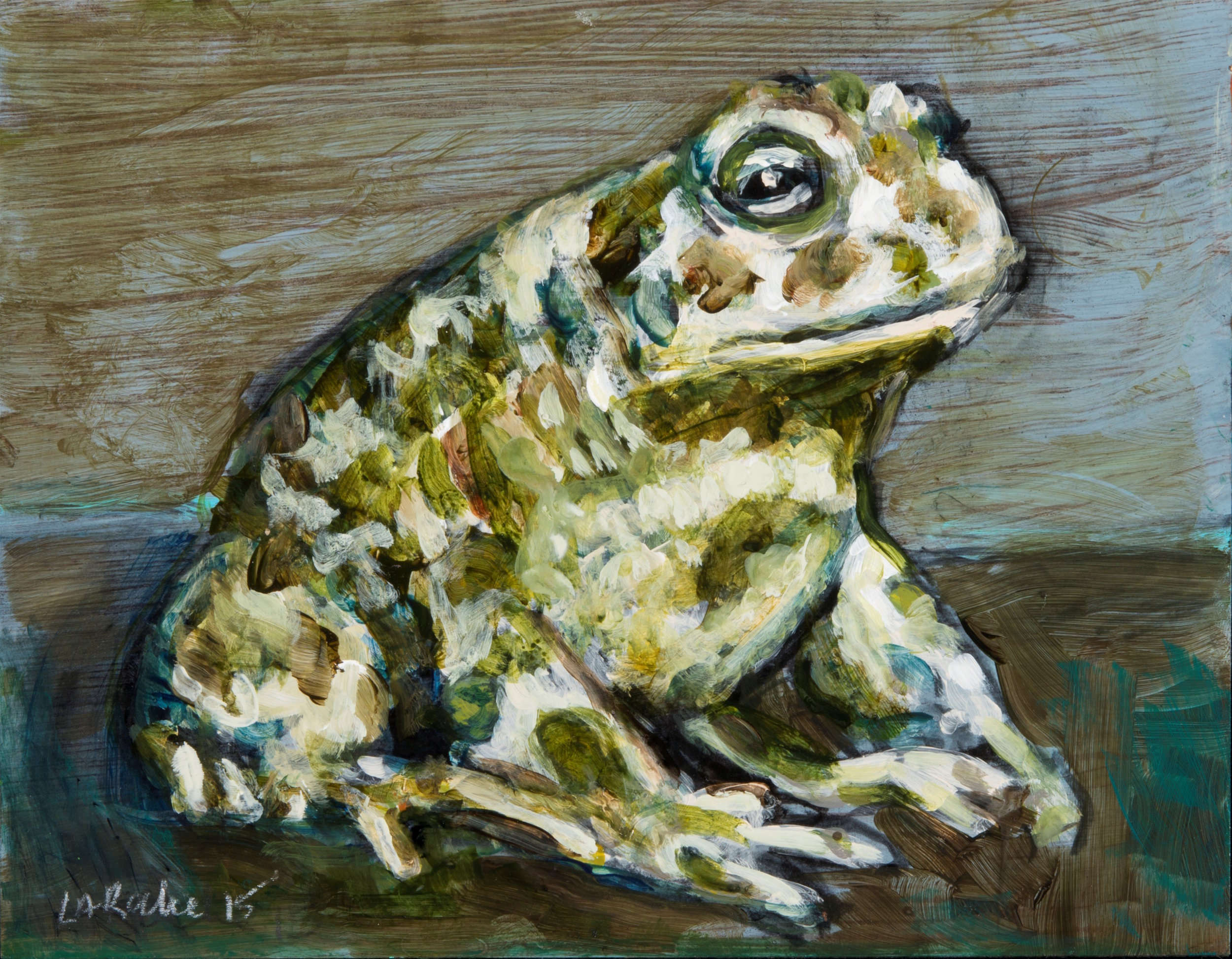 Prince Charming: I am not a frog  (ode to Aldwyth) IV