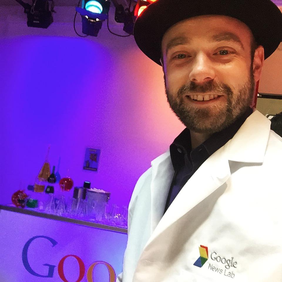 Cocktails for  Google News Lab .