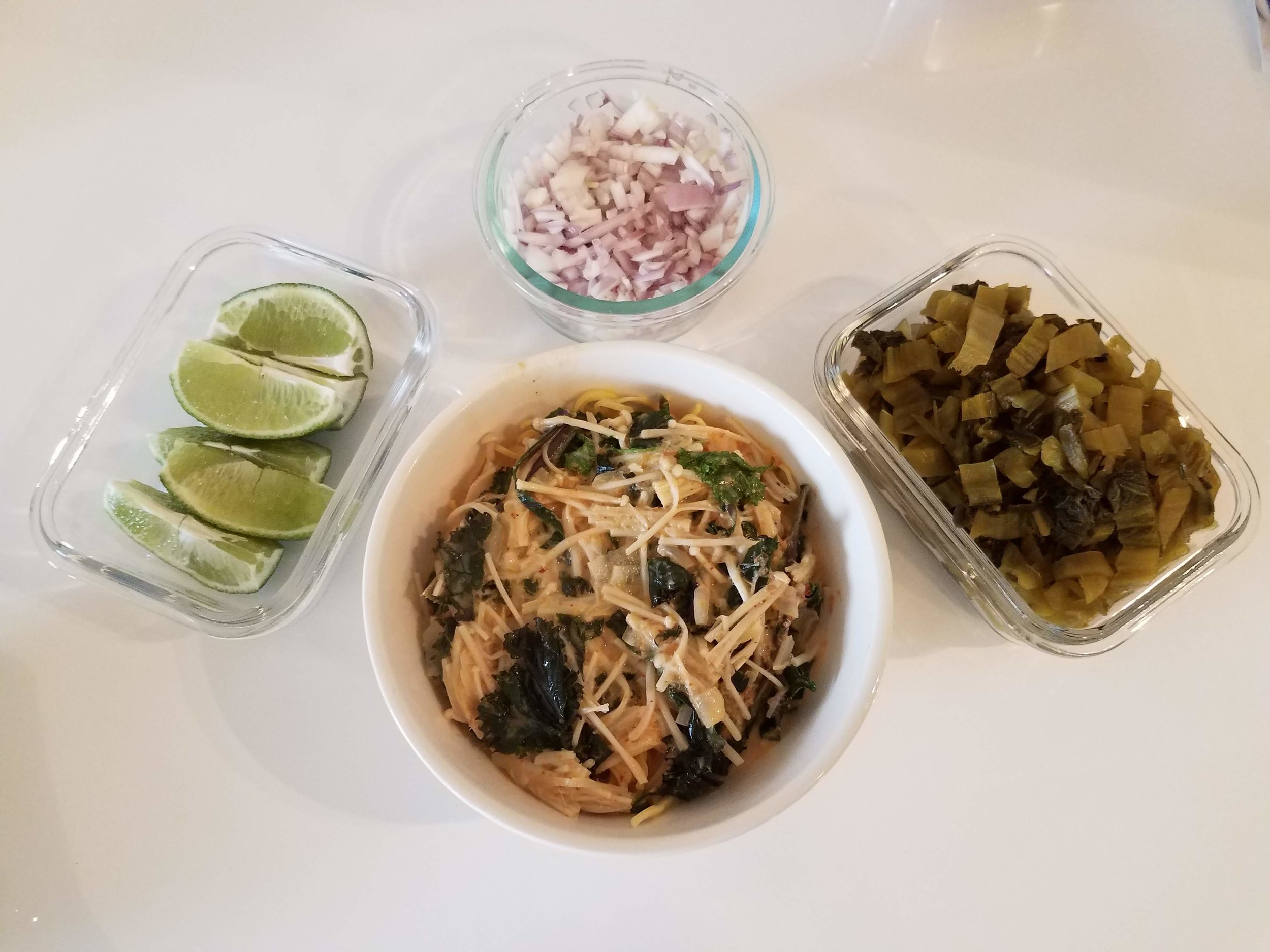 Yummiest homemade khao soi