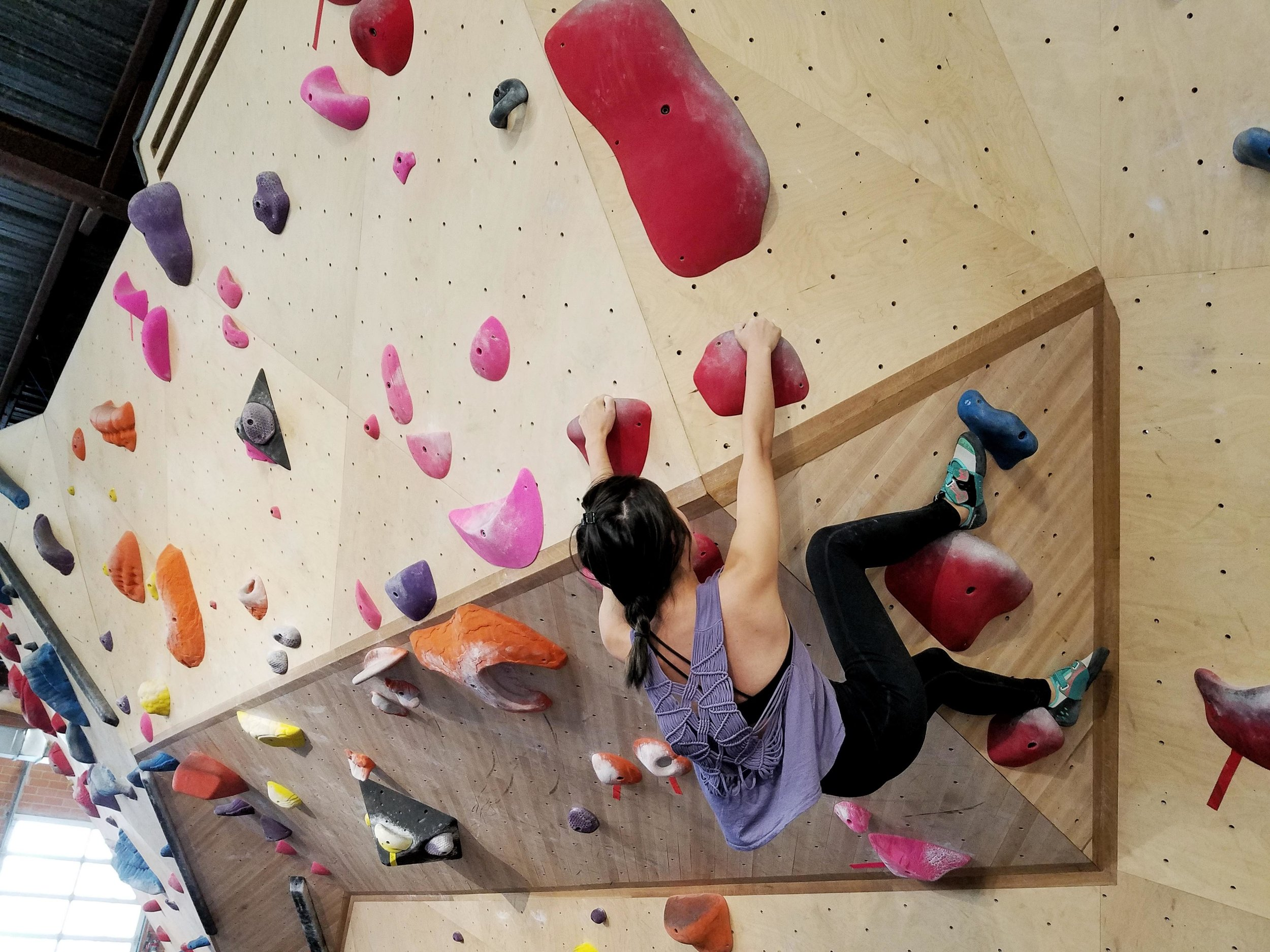 The result of our one month trial membership at  Armadillo Boulders