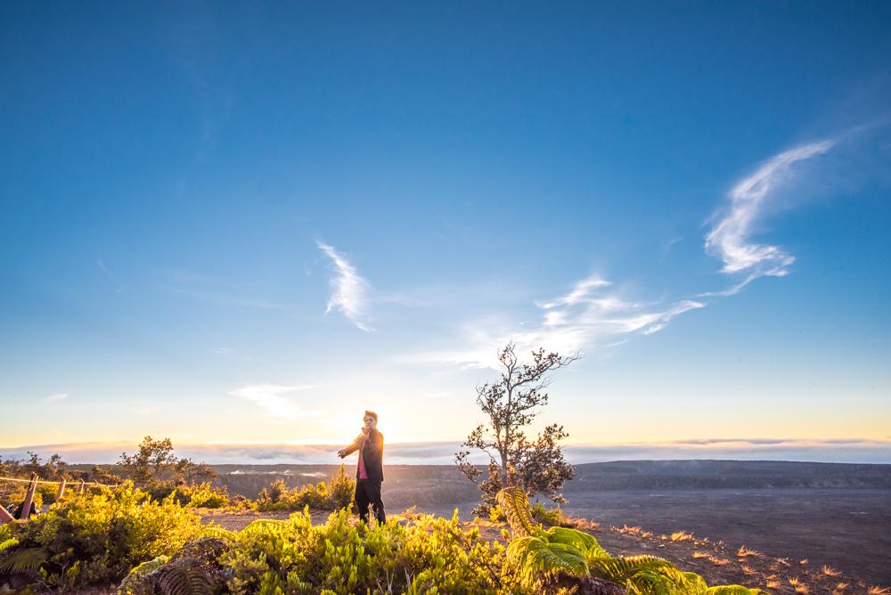 Sunrise concert at Hawai'i Volcanoes National Park