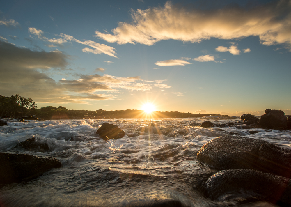 sunrise @ Black Sands Beach