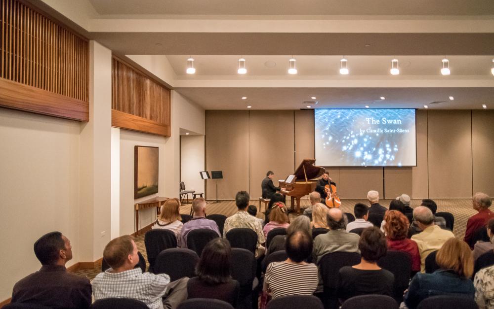 Photo-Music concert @Maui Cultural Center