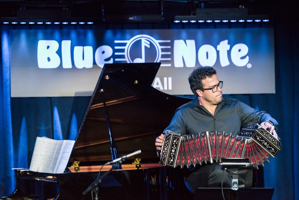 Opening concert at Blue Note