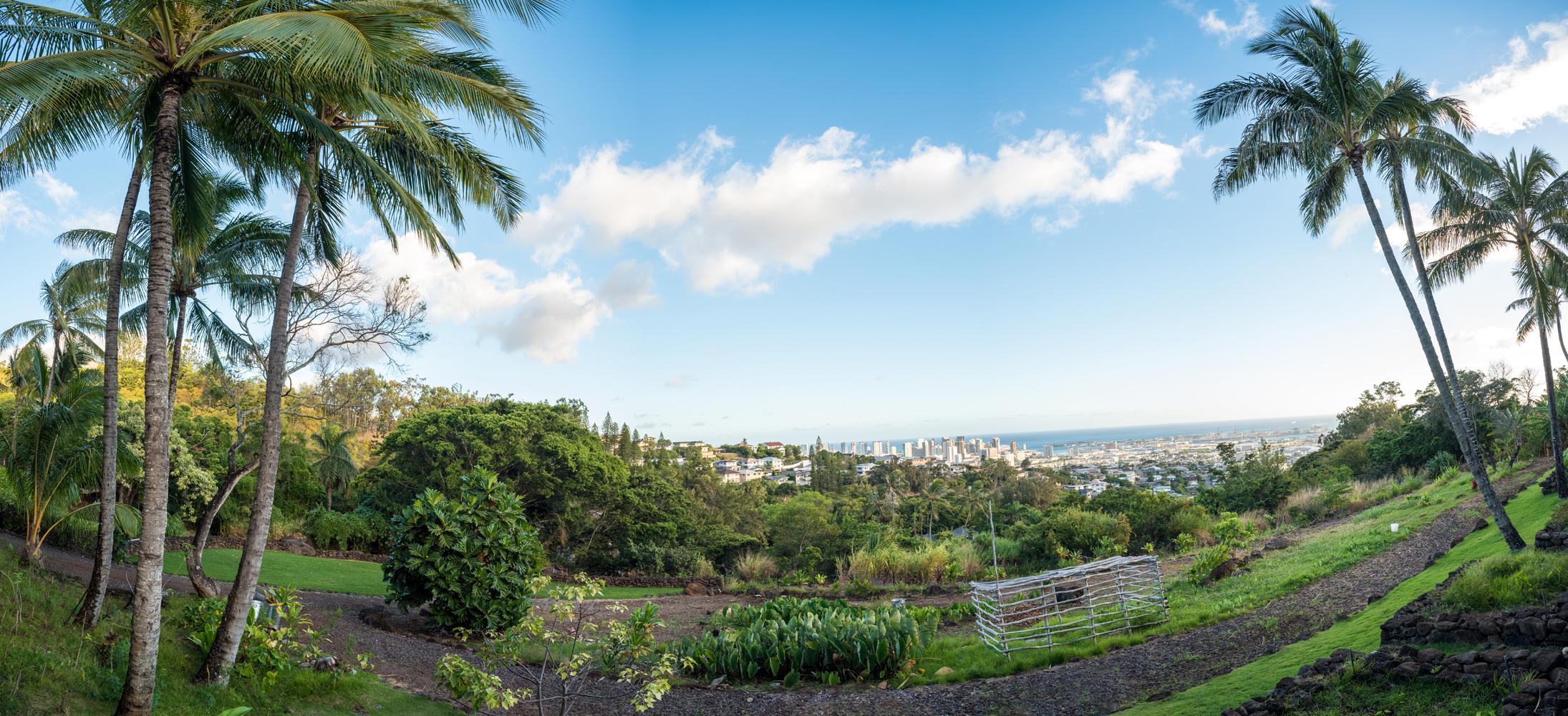 View from Kamehameha Schools Heritage Center
