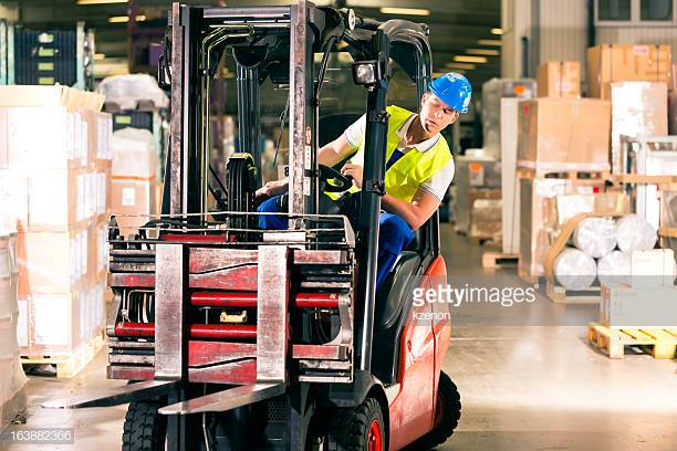 Forklifts and Pedestrian Workers or Members of the Public.Can you segregate them? -