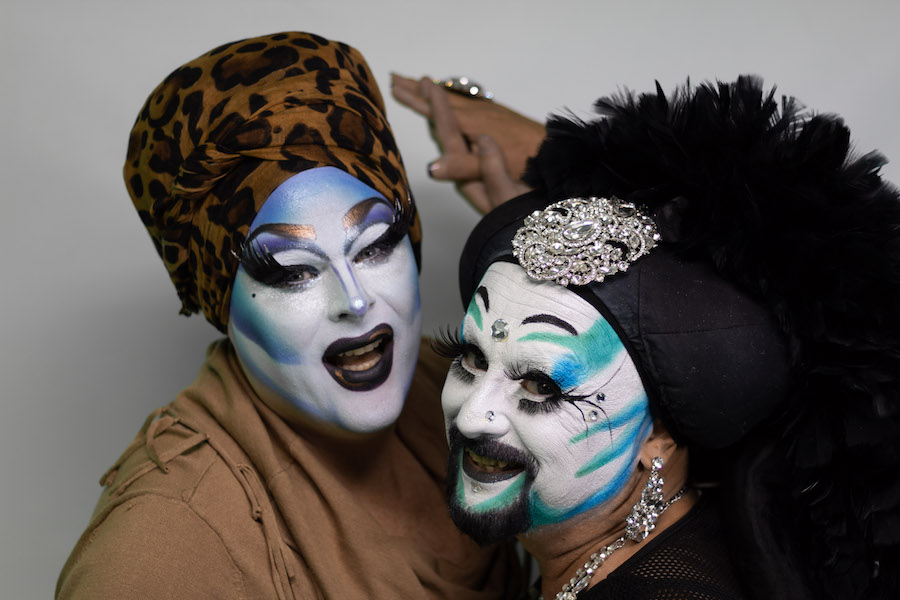 Photobombed by Sister Divine Ho.